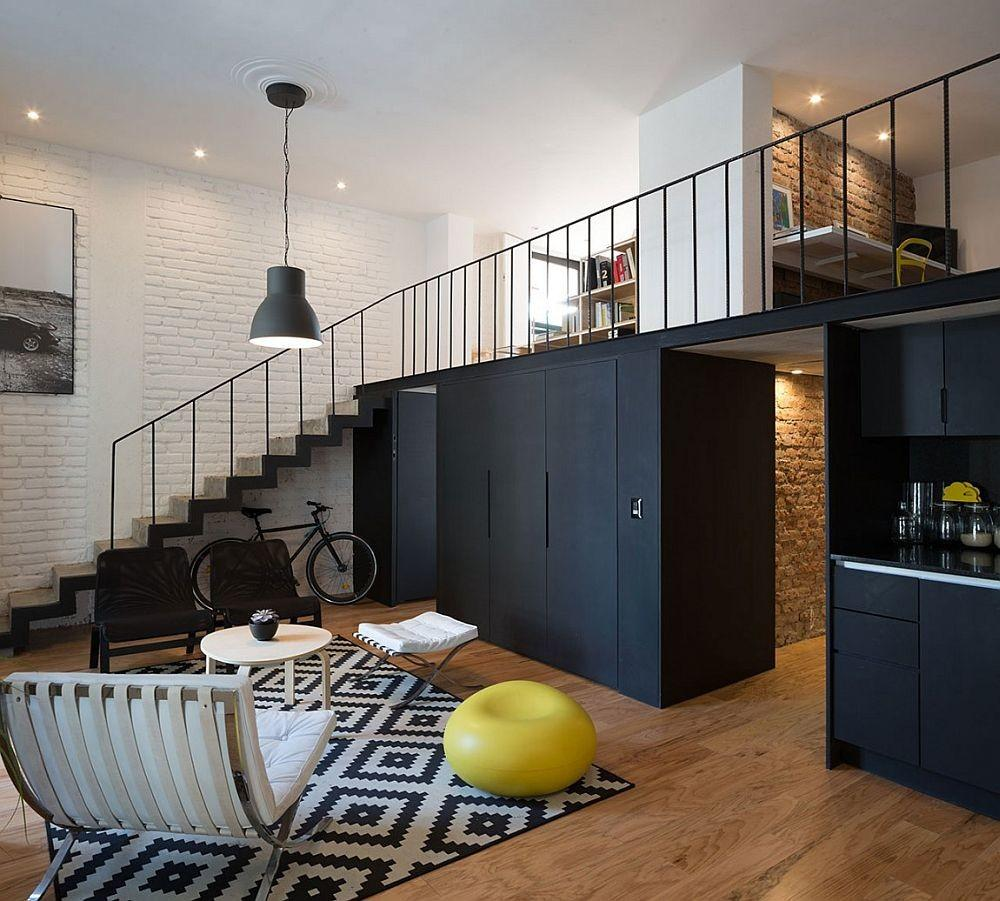 Exquisite Cordoba Flat Goes Industrial Chic