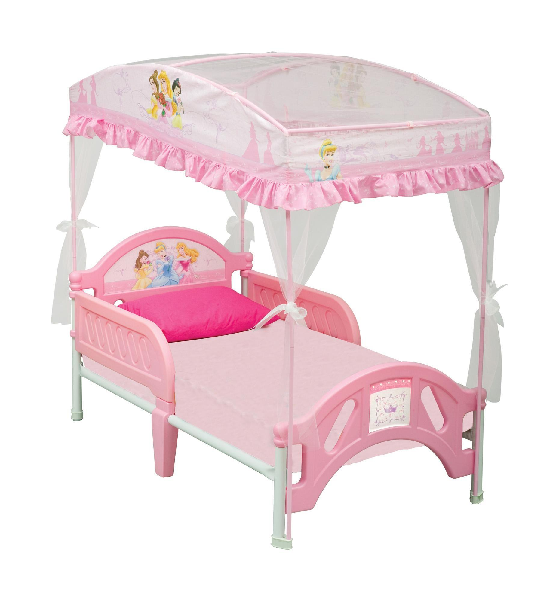 Exquisite Toddler Princess Bed Canopy Pink