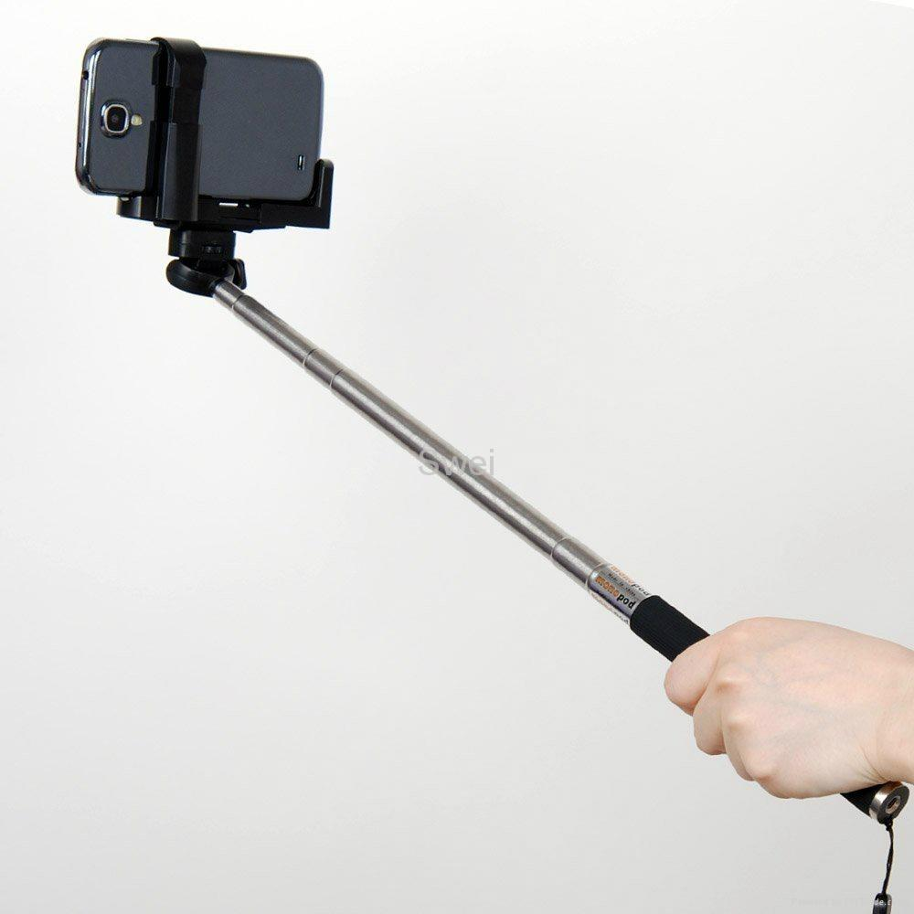 Extendable Handheld Monopod Compact Camera