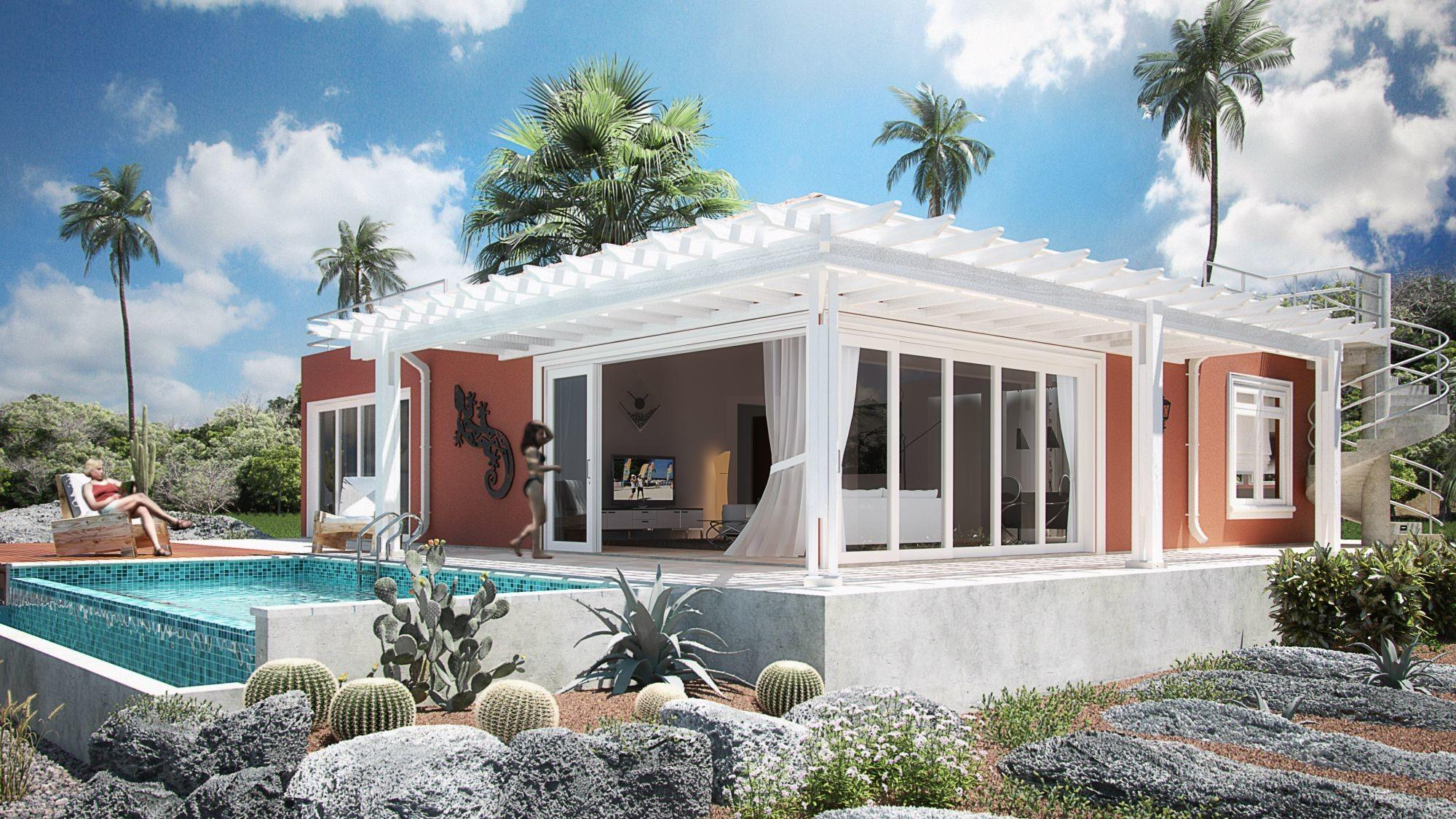 Exterior Amazing Ideas Tropical Homes Design