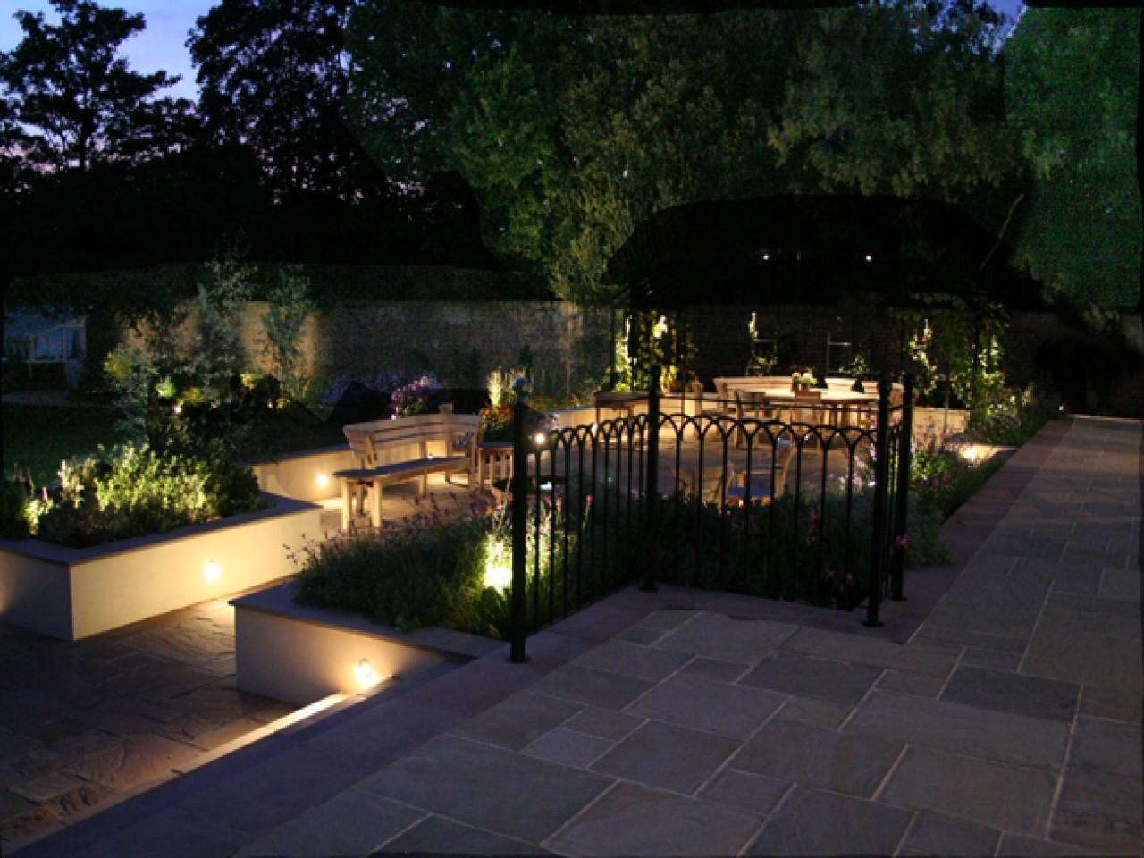 Exterior Garden Lighting Ideas