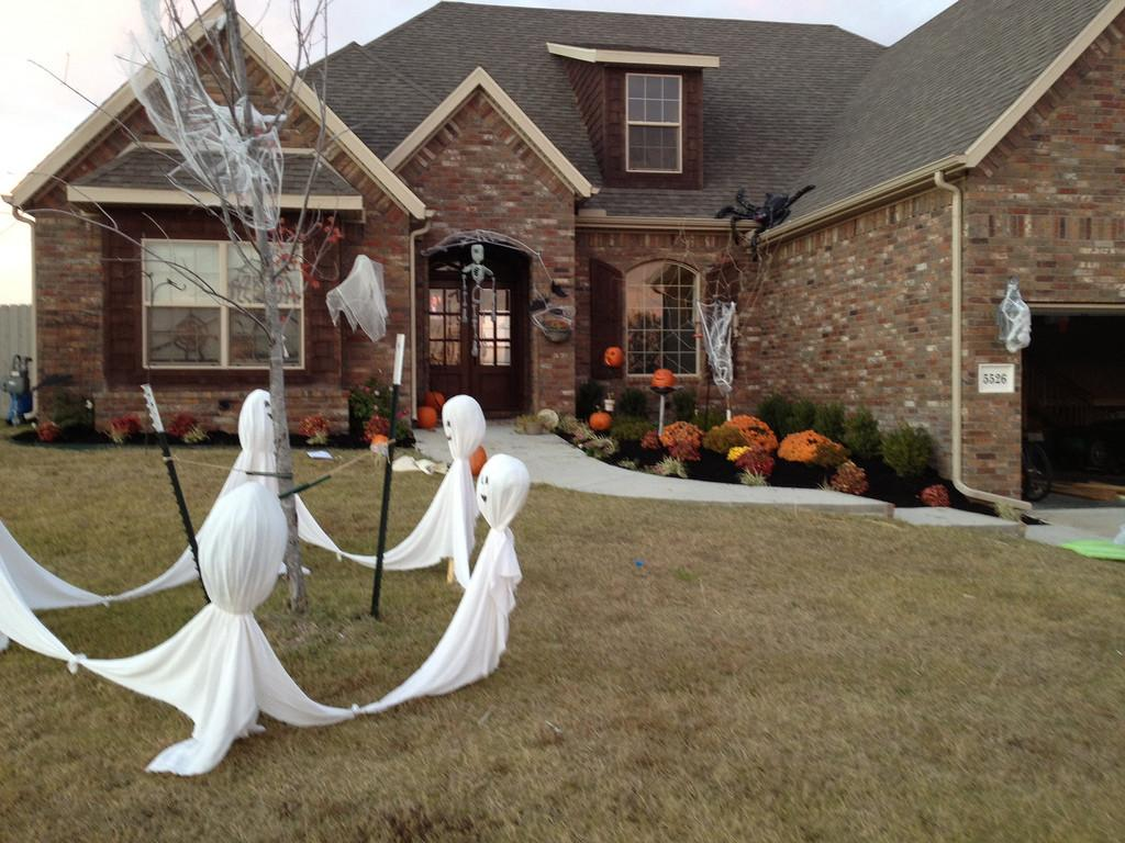 Exterior Halloween Decorations Upstate Your Home