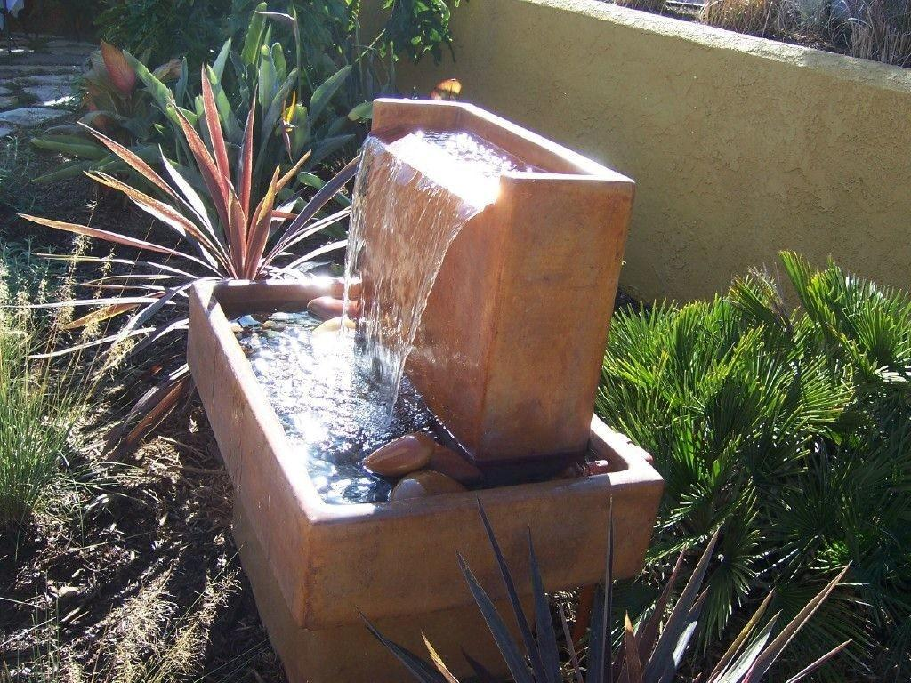 Exterior Handmade Outdoor Water Fountains Top