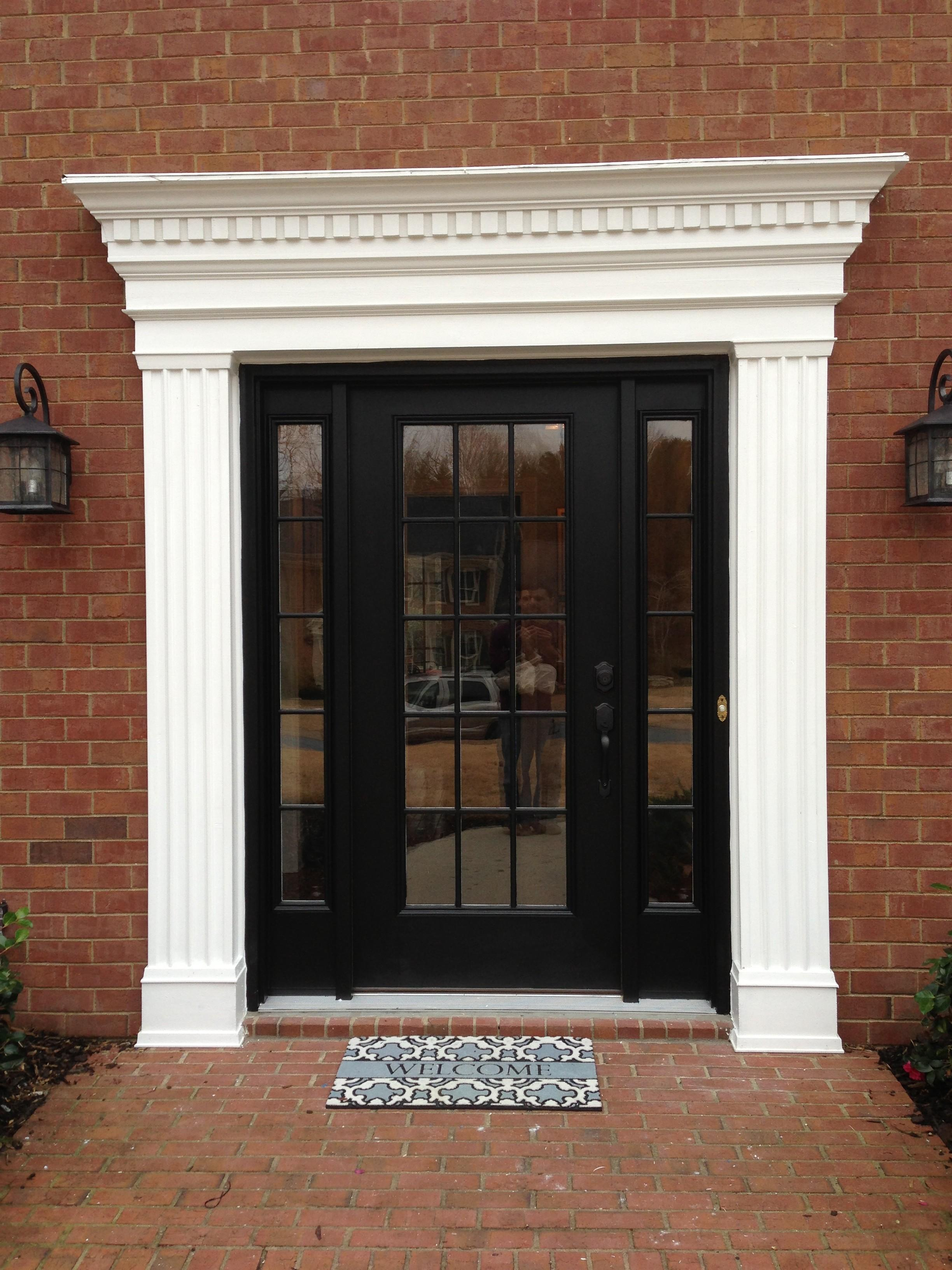 Exterior Window Trim Brick