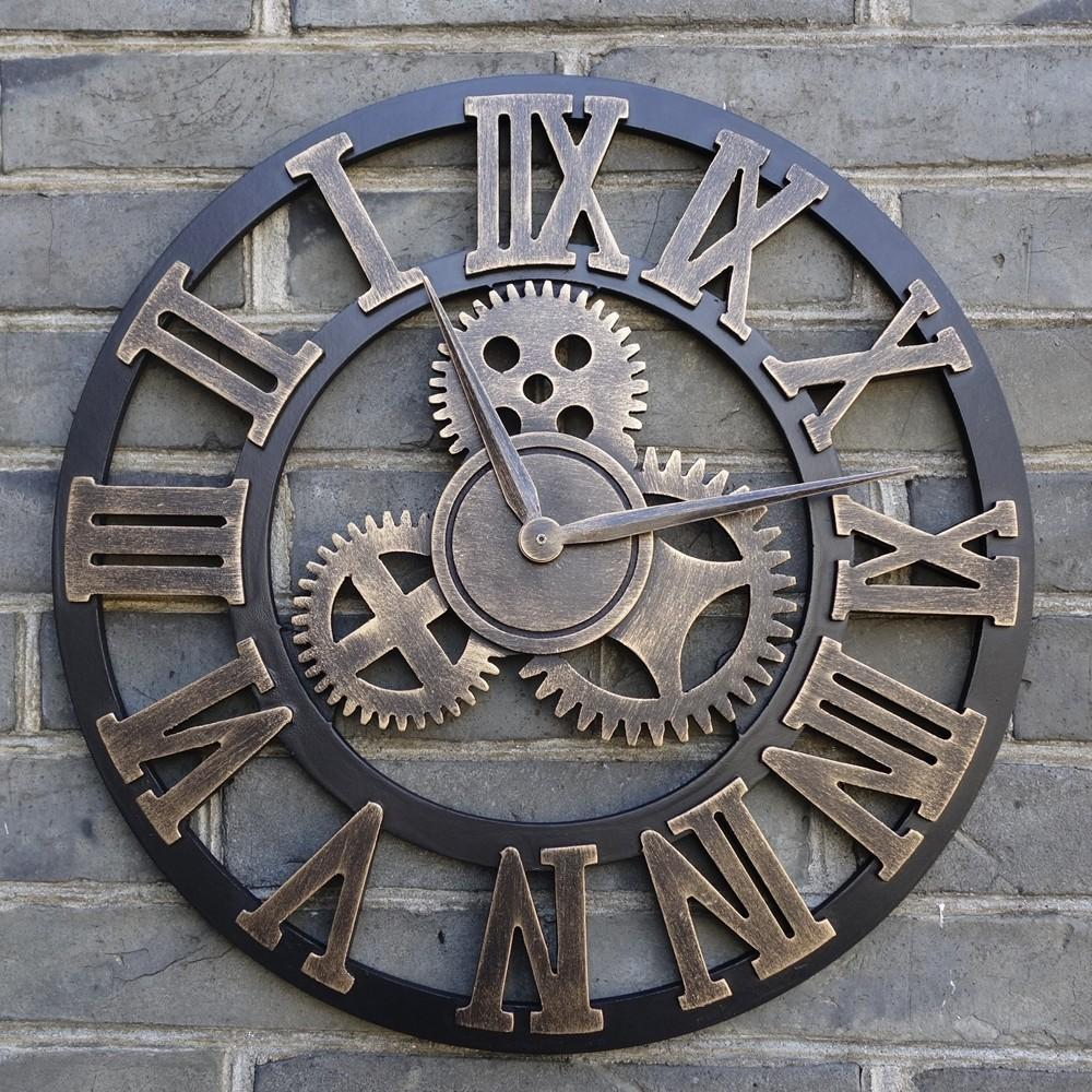 Extra Large Wall Clocks Practical Vintage