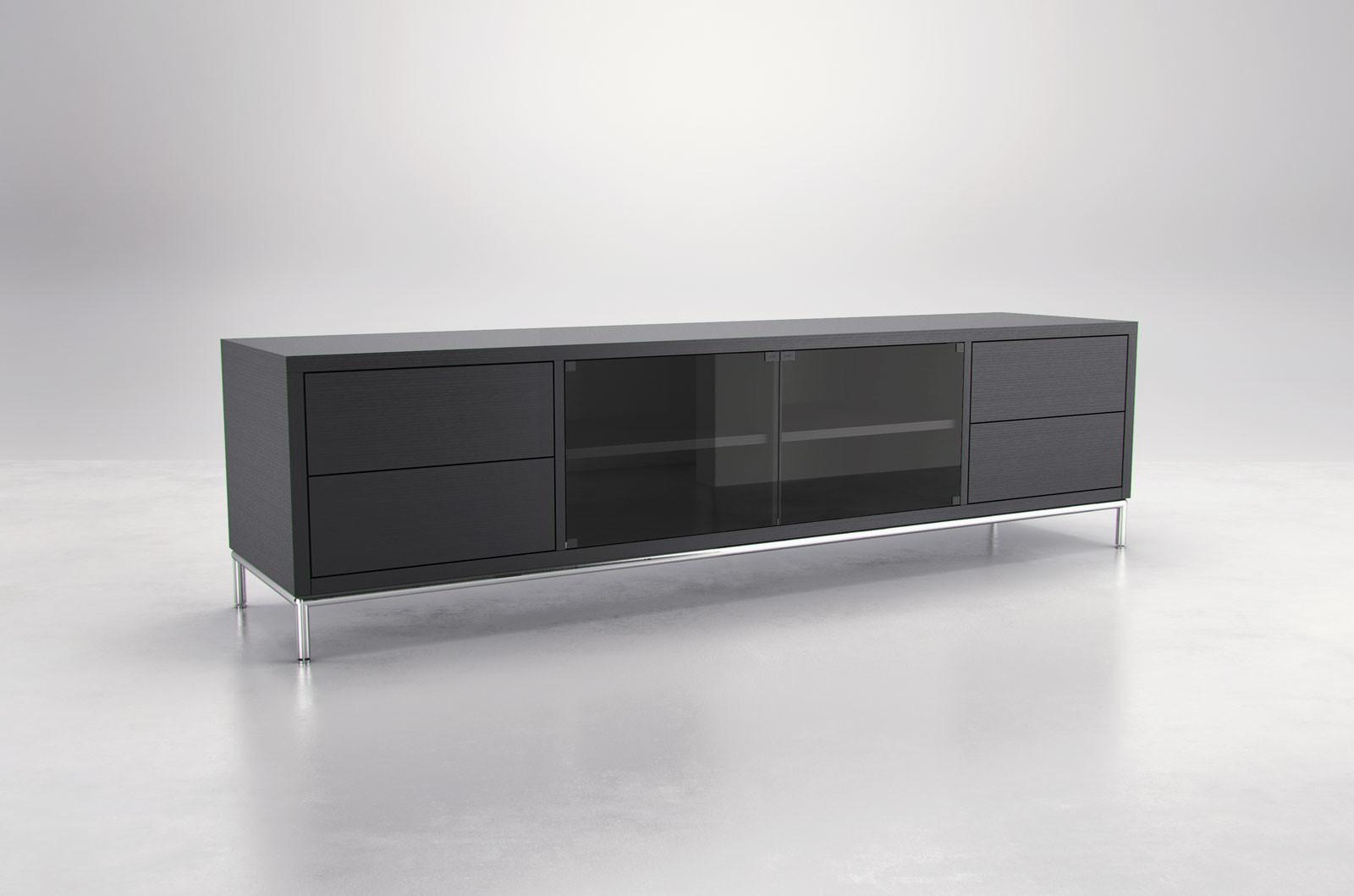 Extra Long Contemporary Entertainment Unit Storage