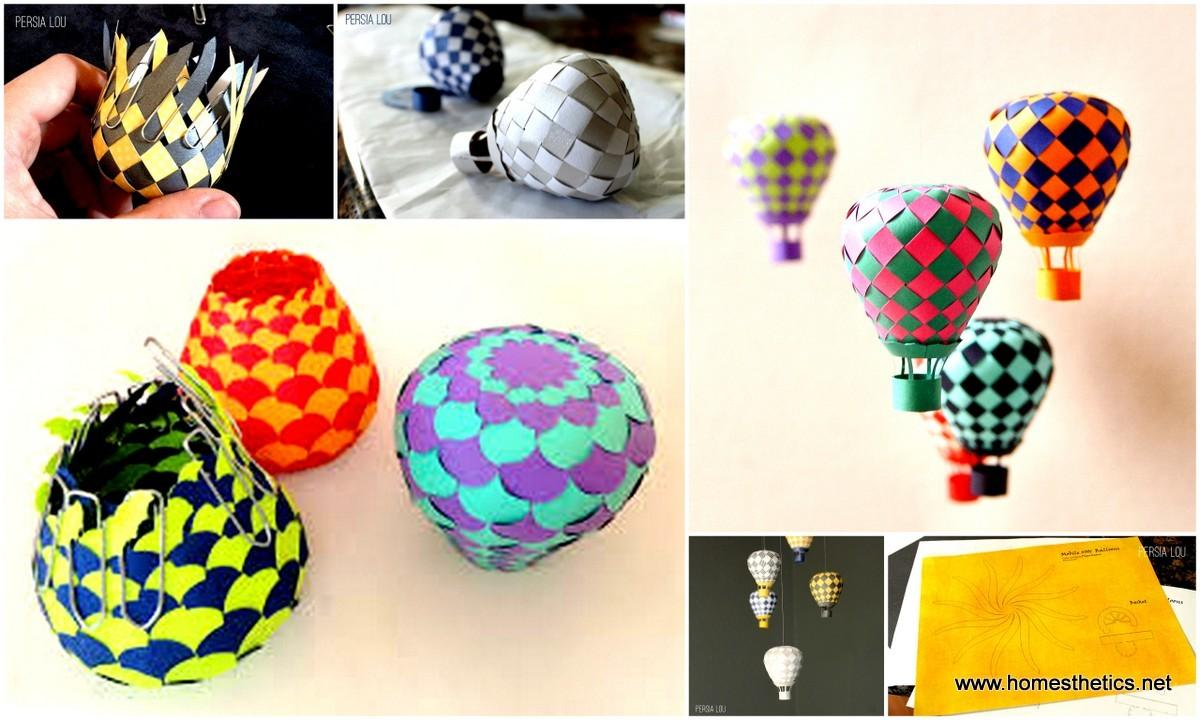 Extraordinary Creative Diy Paper Art Project Colorful Hot