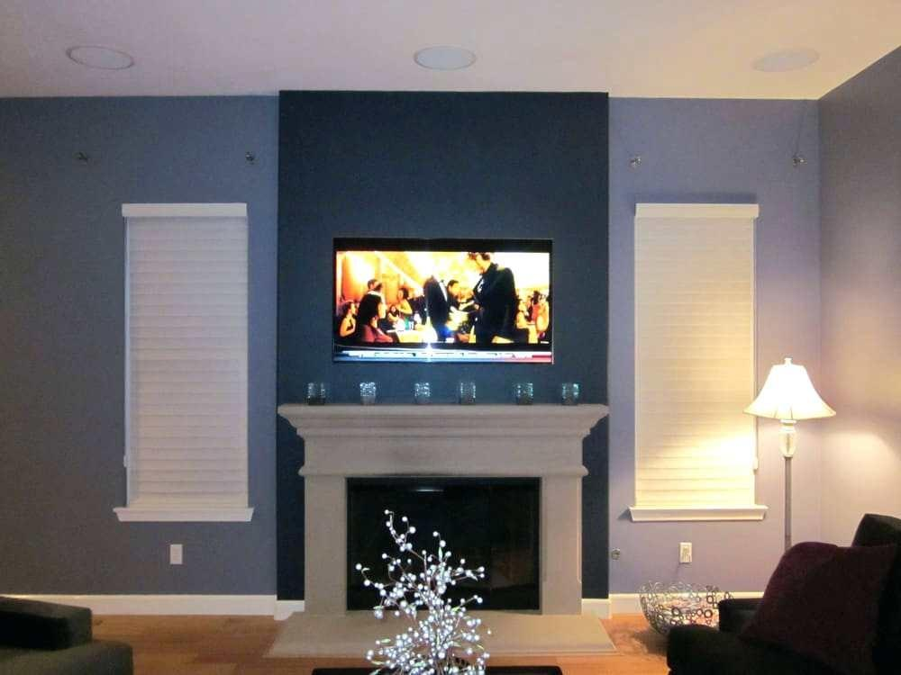 Extraordinary Over Fireplace Put Components
