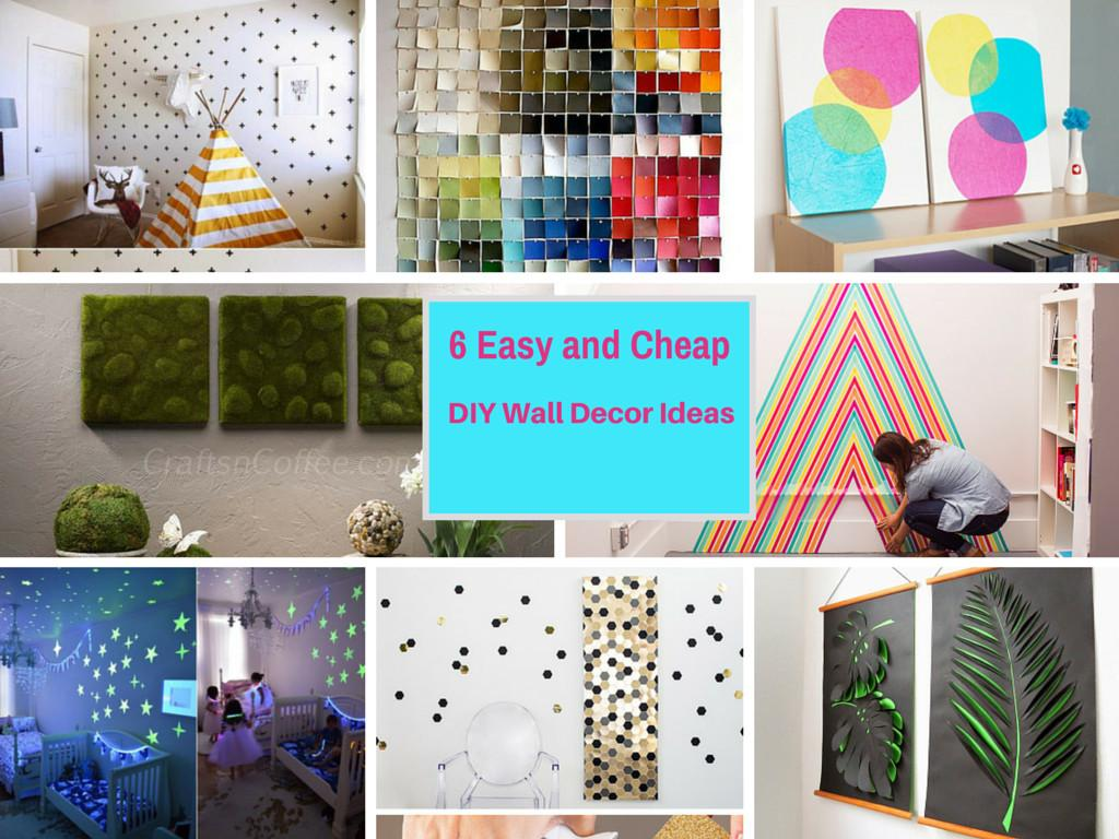 Extremely Easy Cheap Diy Wall Decor Ideas Part