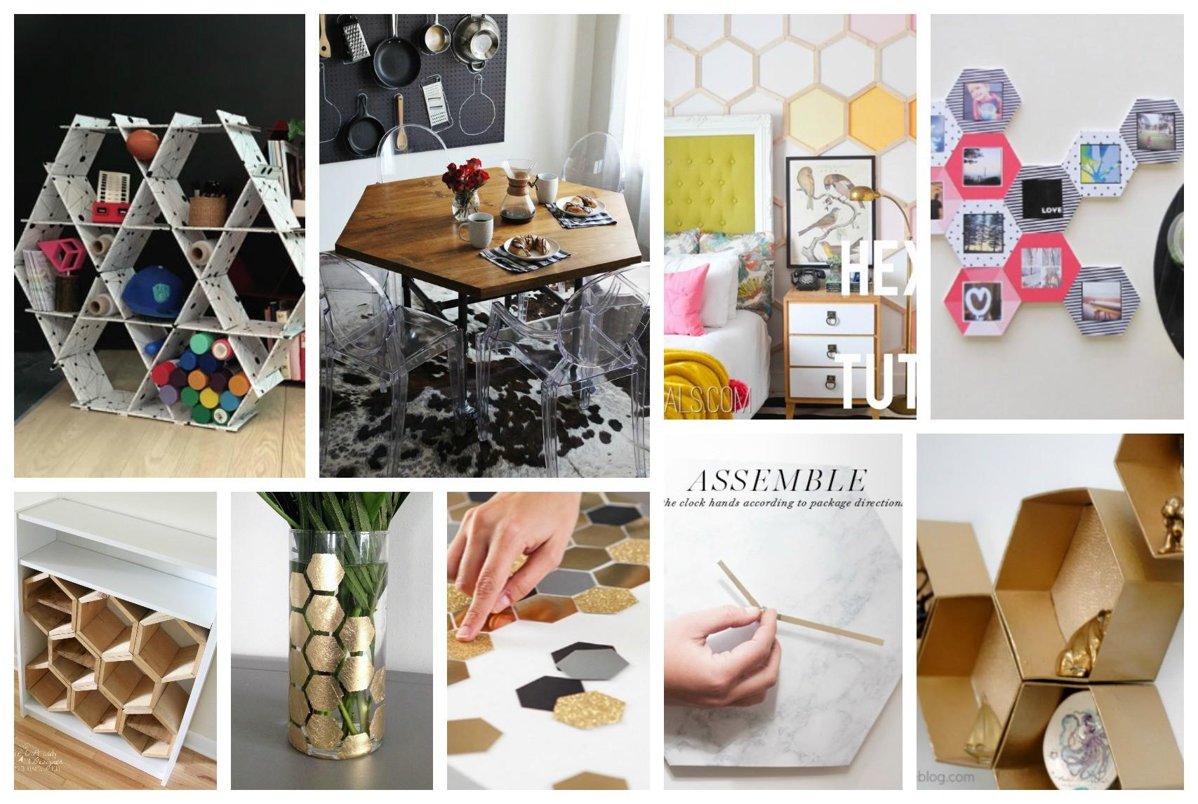 Eye Catching Diy Hexagon Projects Amaze