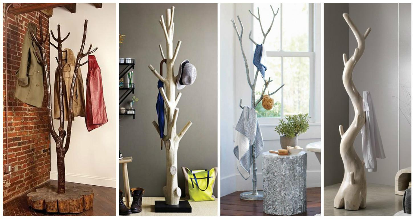 Eye Catching Tree Shaped Racks Break Monotony