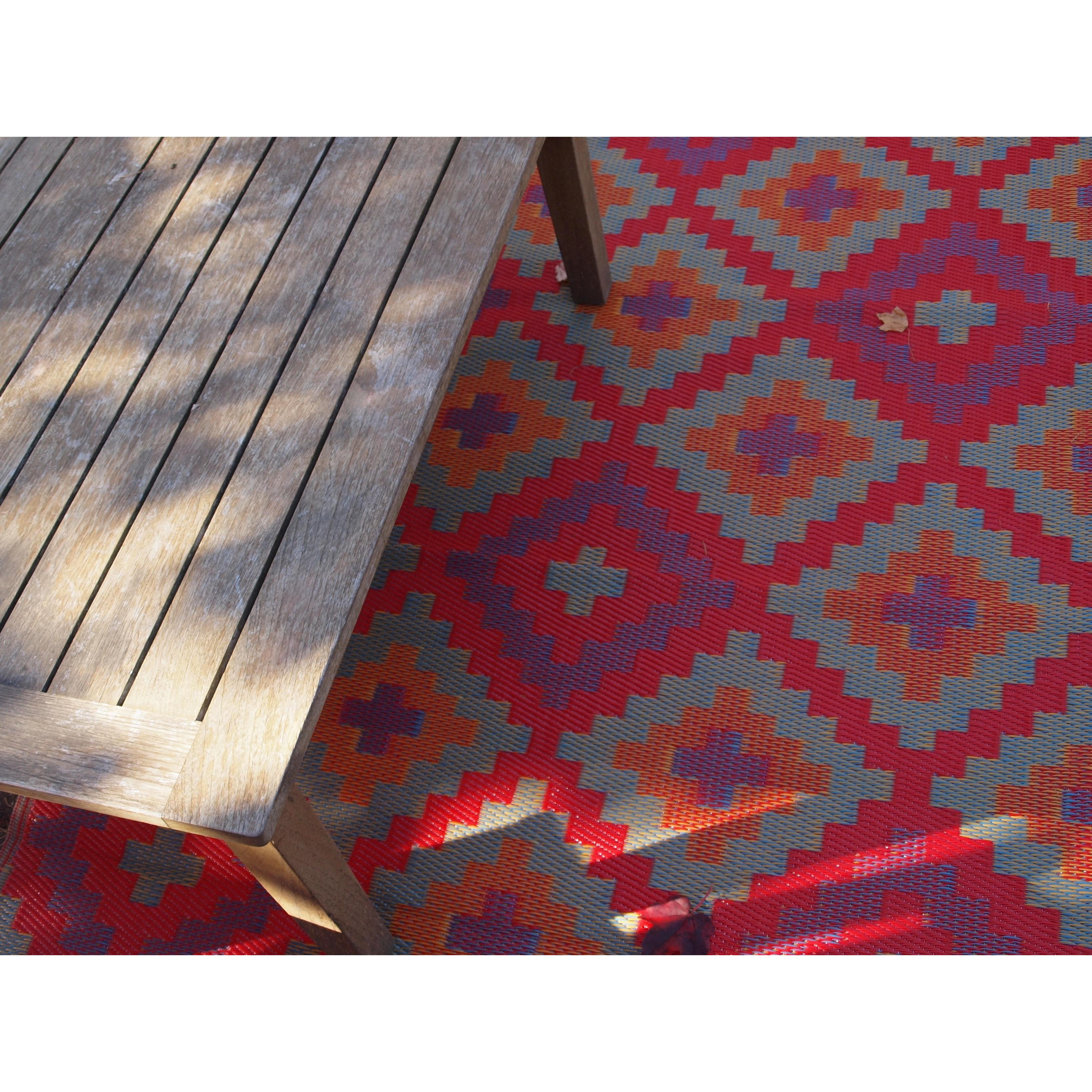 Fab Rugs World Saman Indoor Outdoor Area Rug