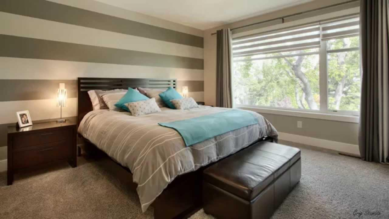 Fabulous Bedrooms Striped Accent Walls