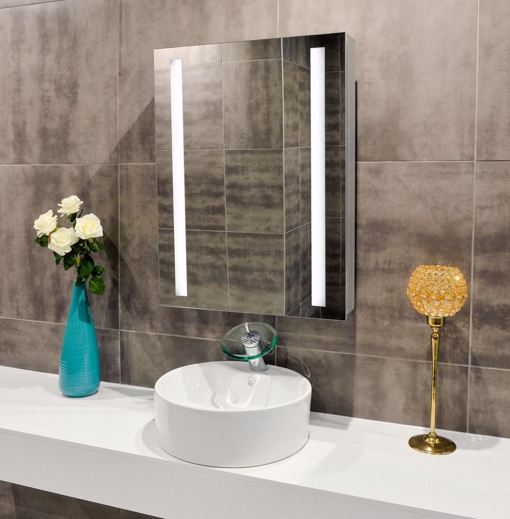 Fabulous Lighted Wall Mirror Unlimited Style Doherty