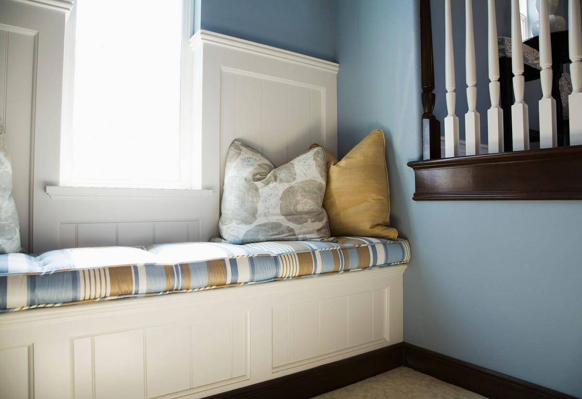 Fabulous Nook Ideas Brown Cushions Closed Nice