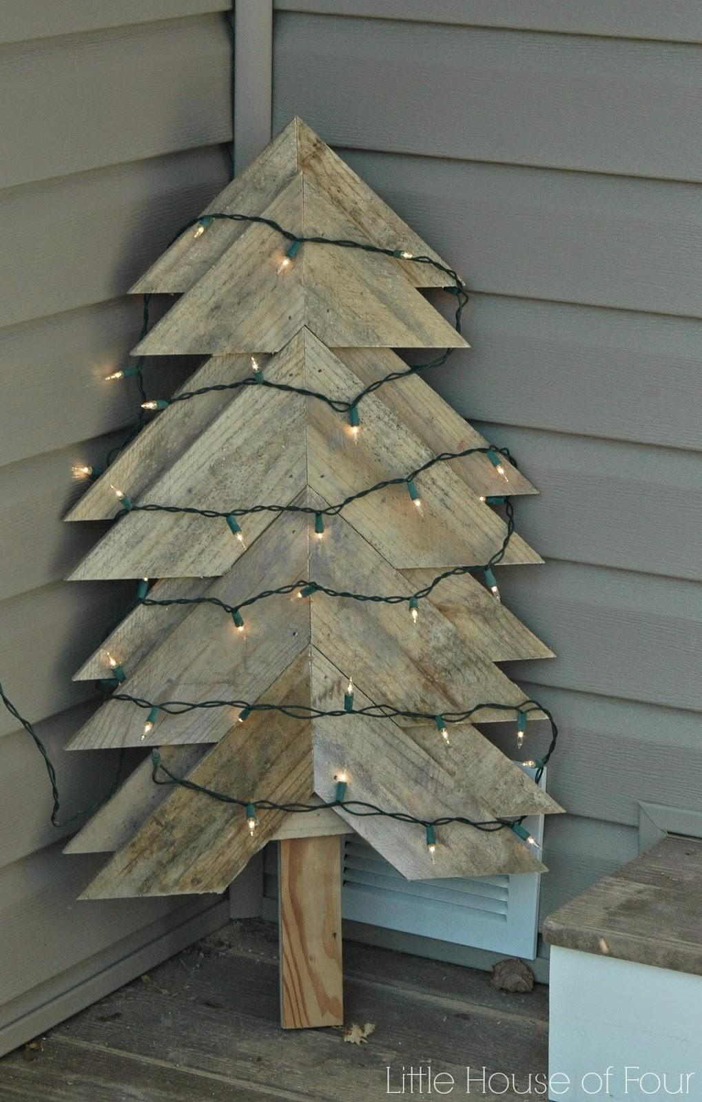 Fabulous Pallet Christmas Trees Can Make Yourself