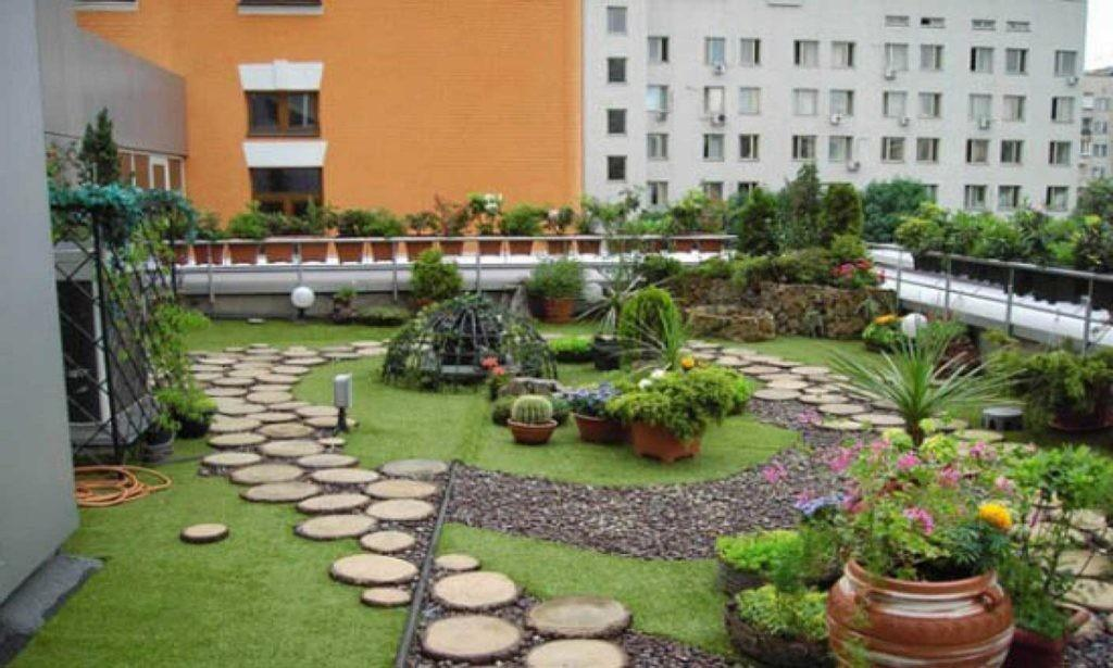 Fabulous Rooftop Garden Design Ideas