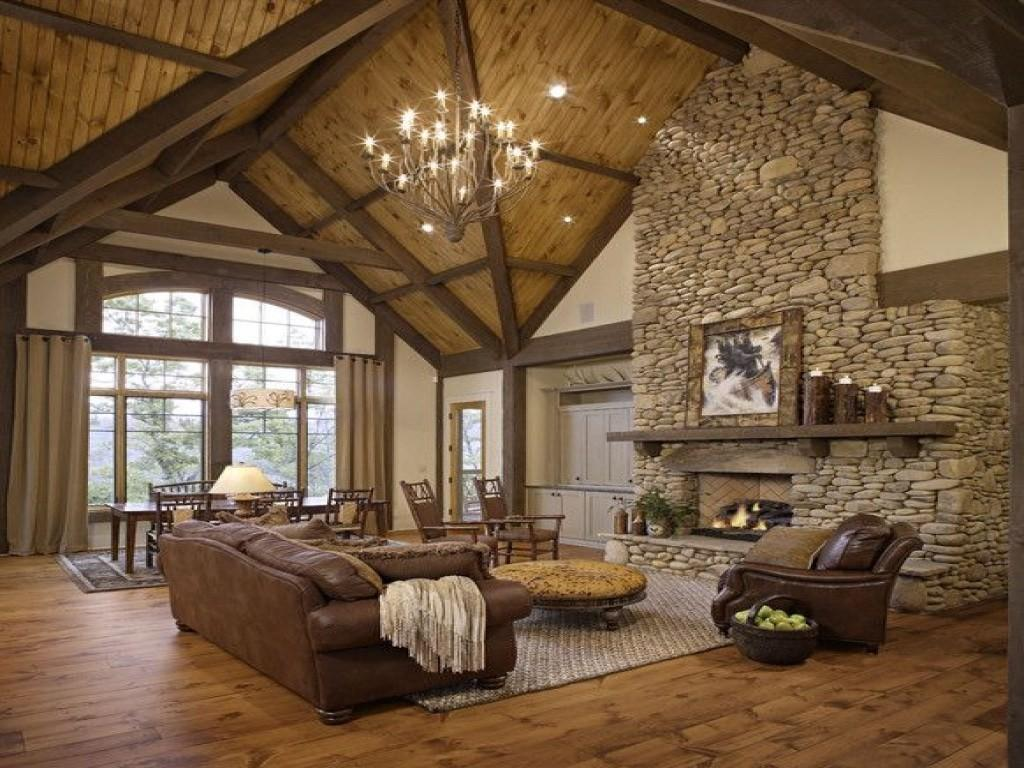 Fabulous Rustic Living Room Also Design