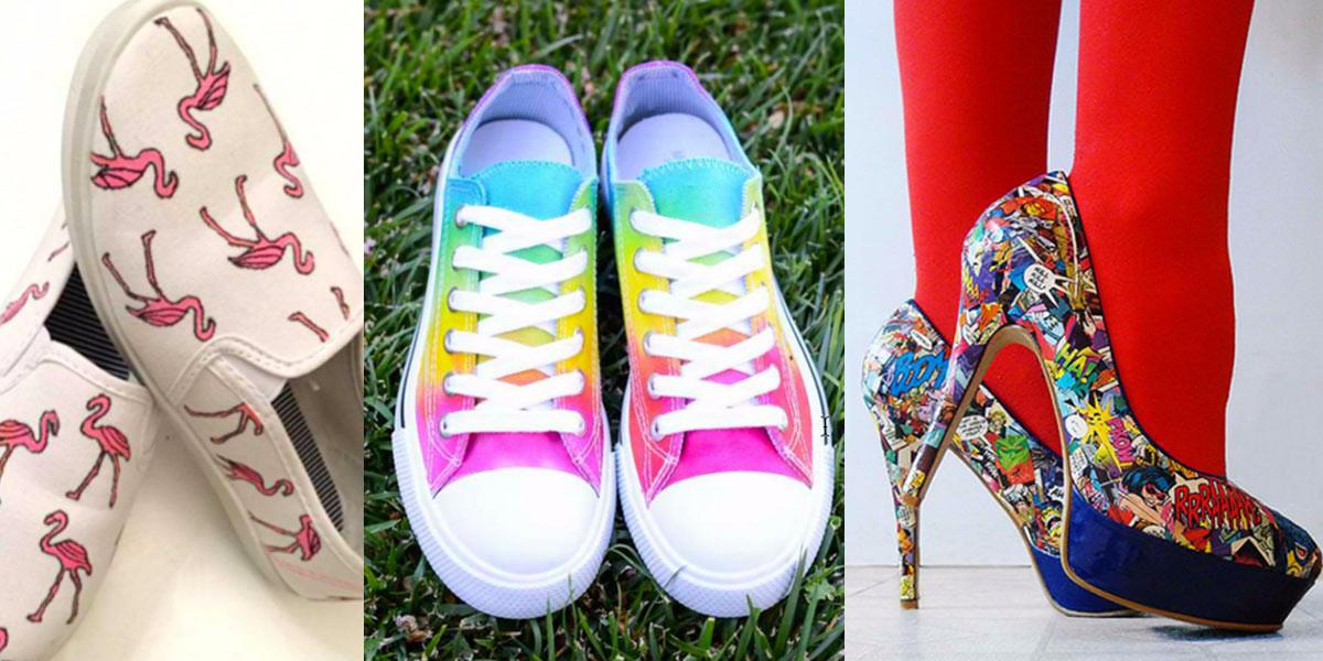Fabulous Shoe Makeovers Anyone Can Diy Projects