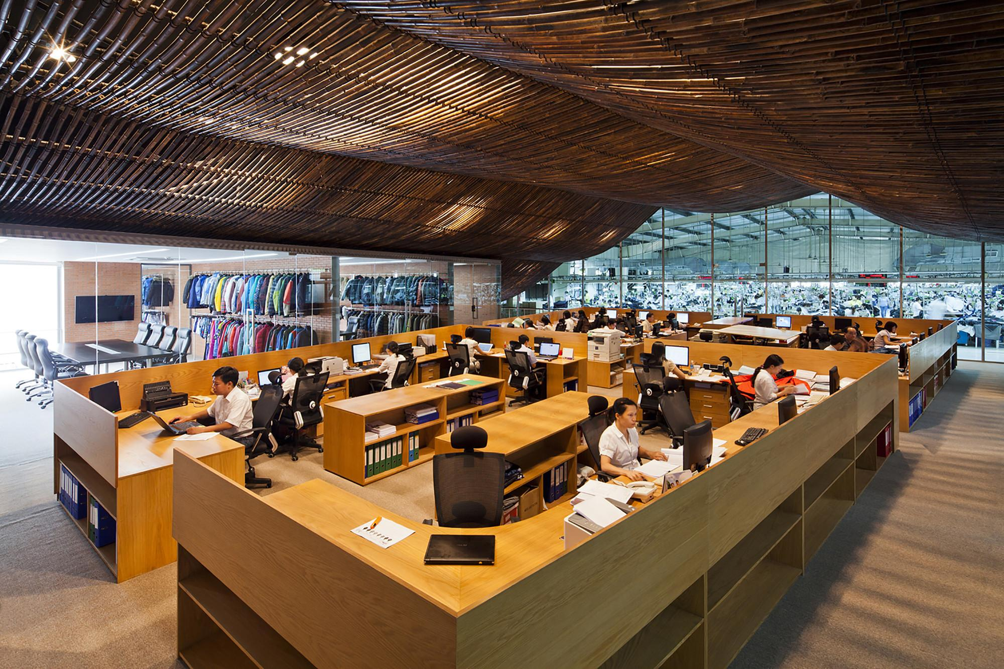 Factory Office Renovation Vtn Architects Archdaily