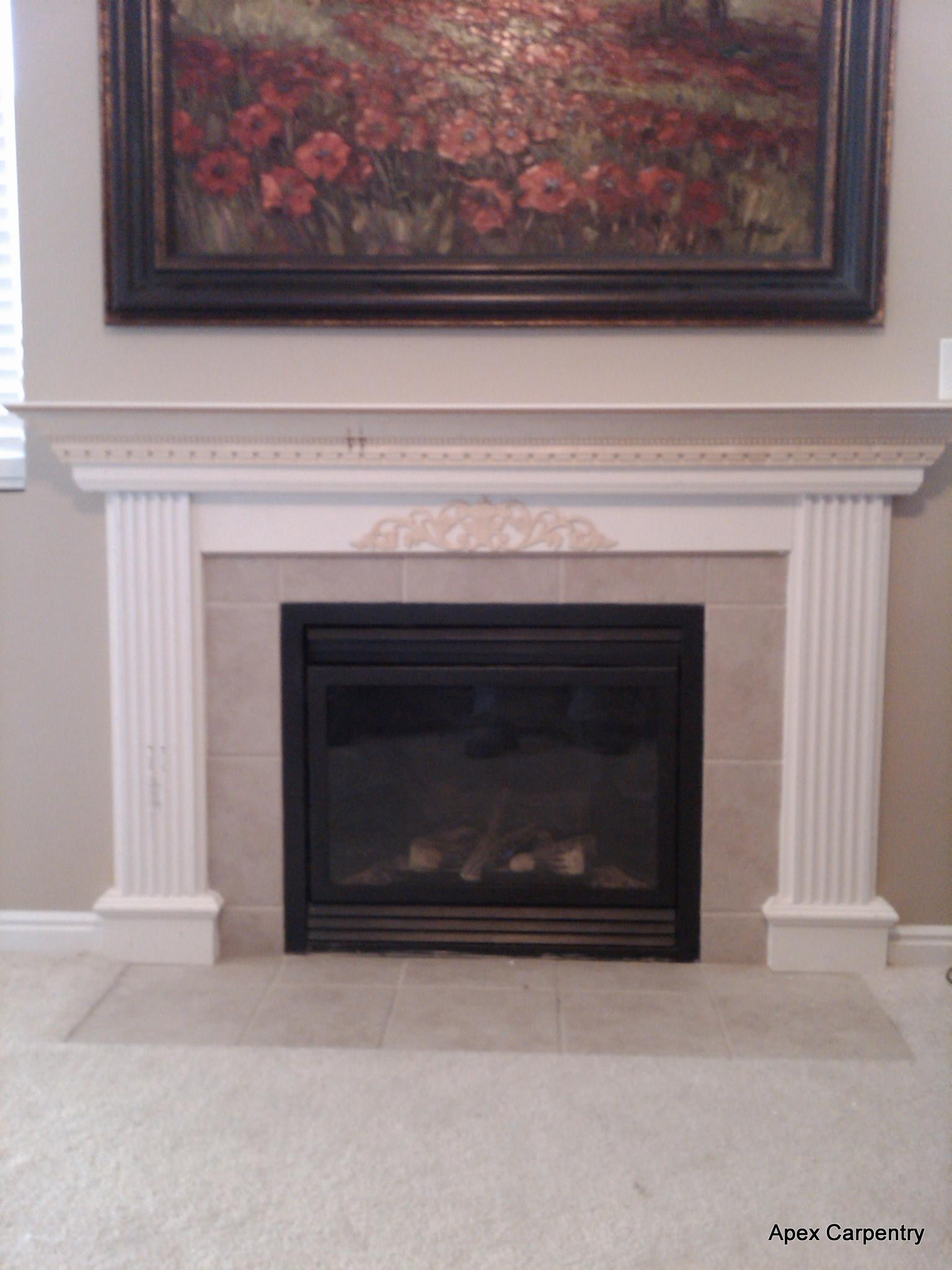 Fake Fireplace Wall Art Fireplaces