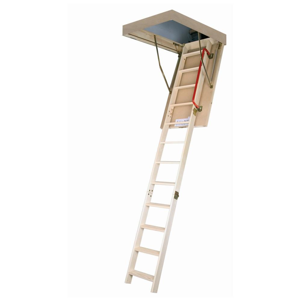 Fakro 668 Lwp Wooden Insulated Attic Ladder Lowe Canada