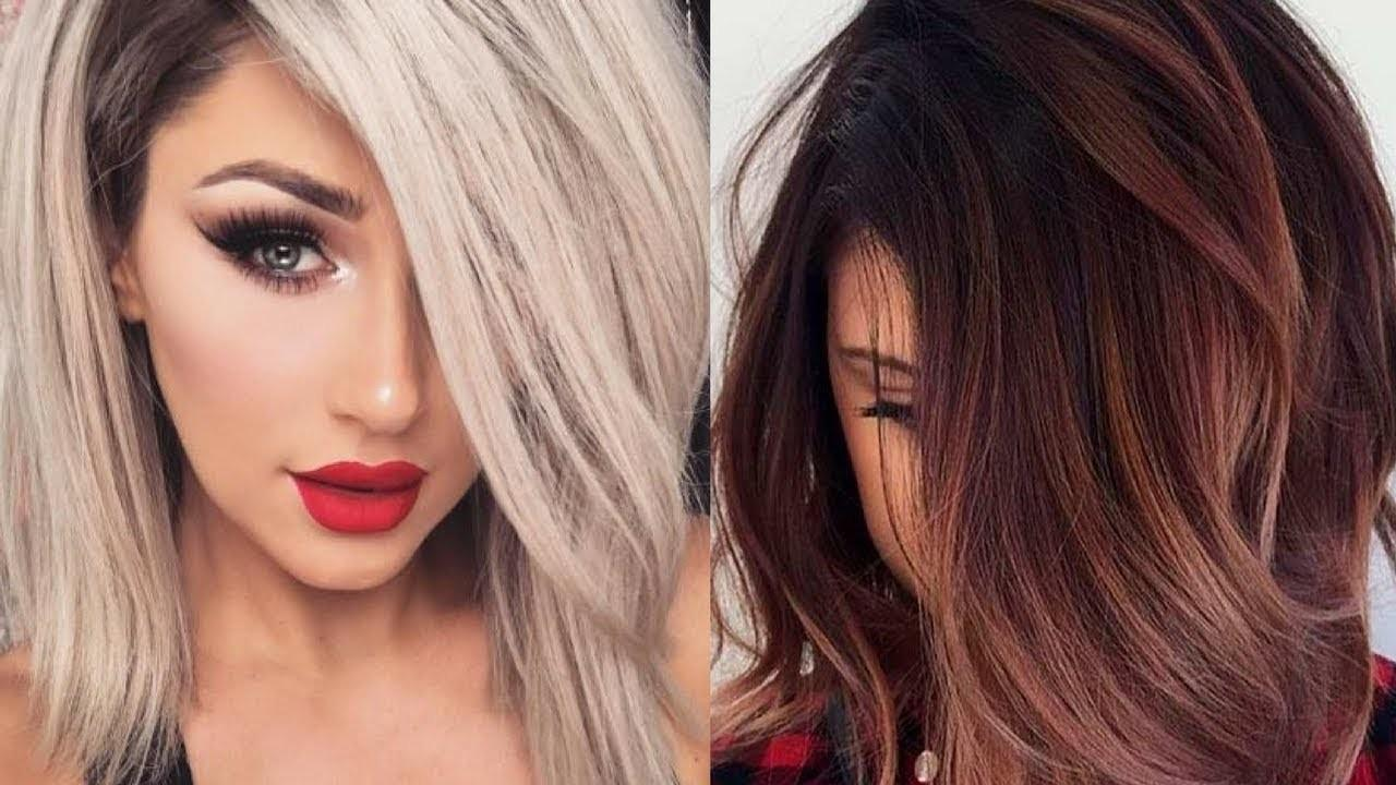 Fall 2017 Winter 2018 Hair Color Trends Ideas