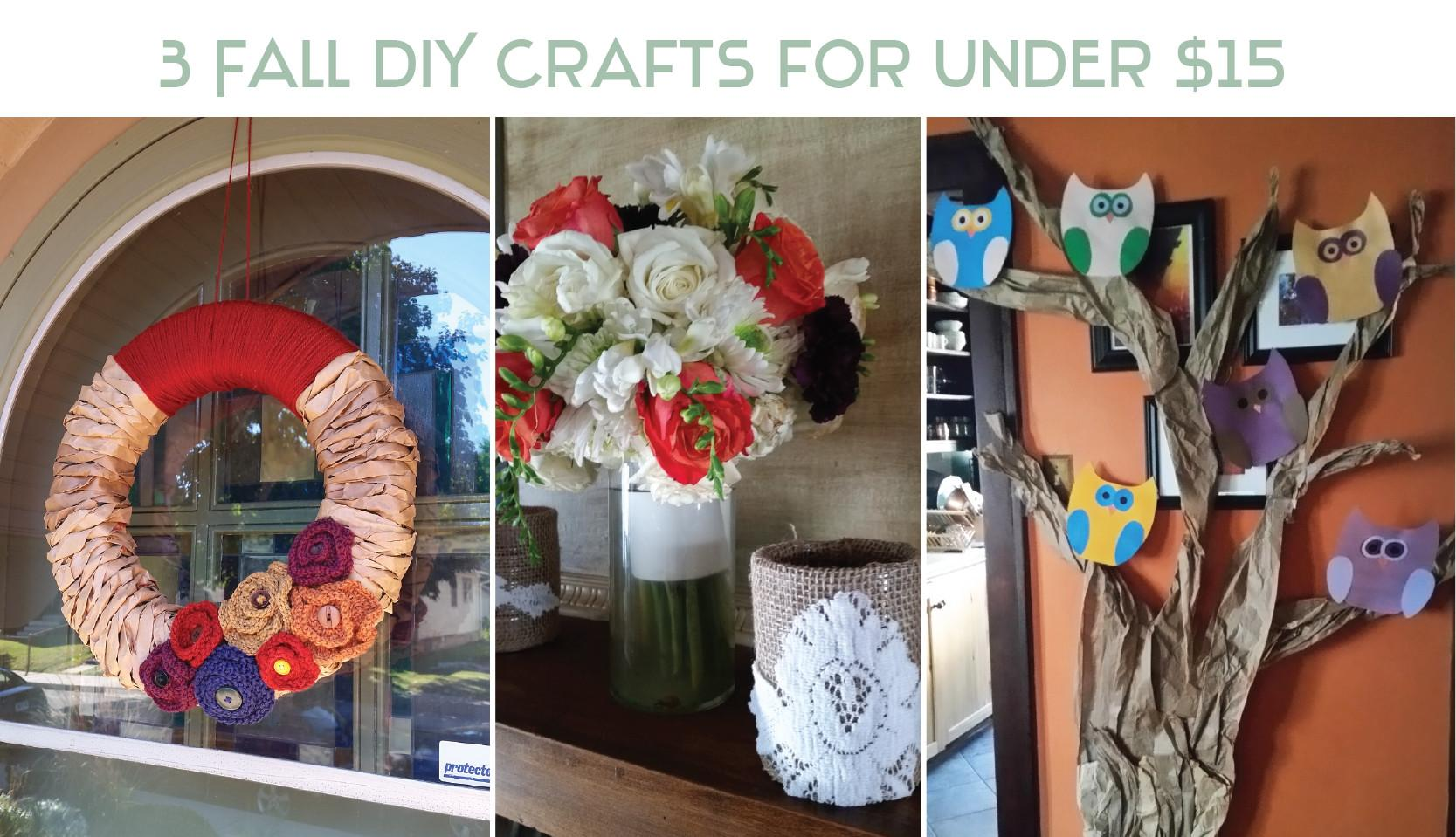 Fall Decor Diy Projects Under