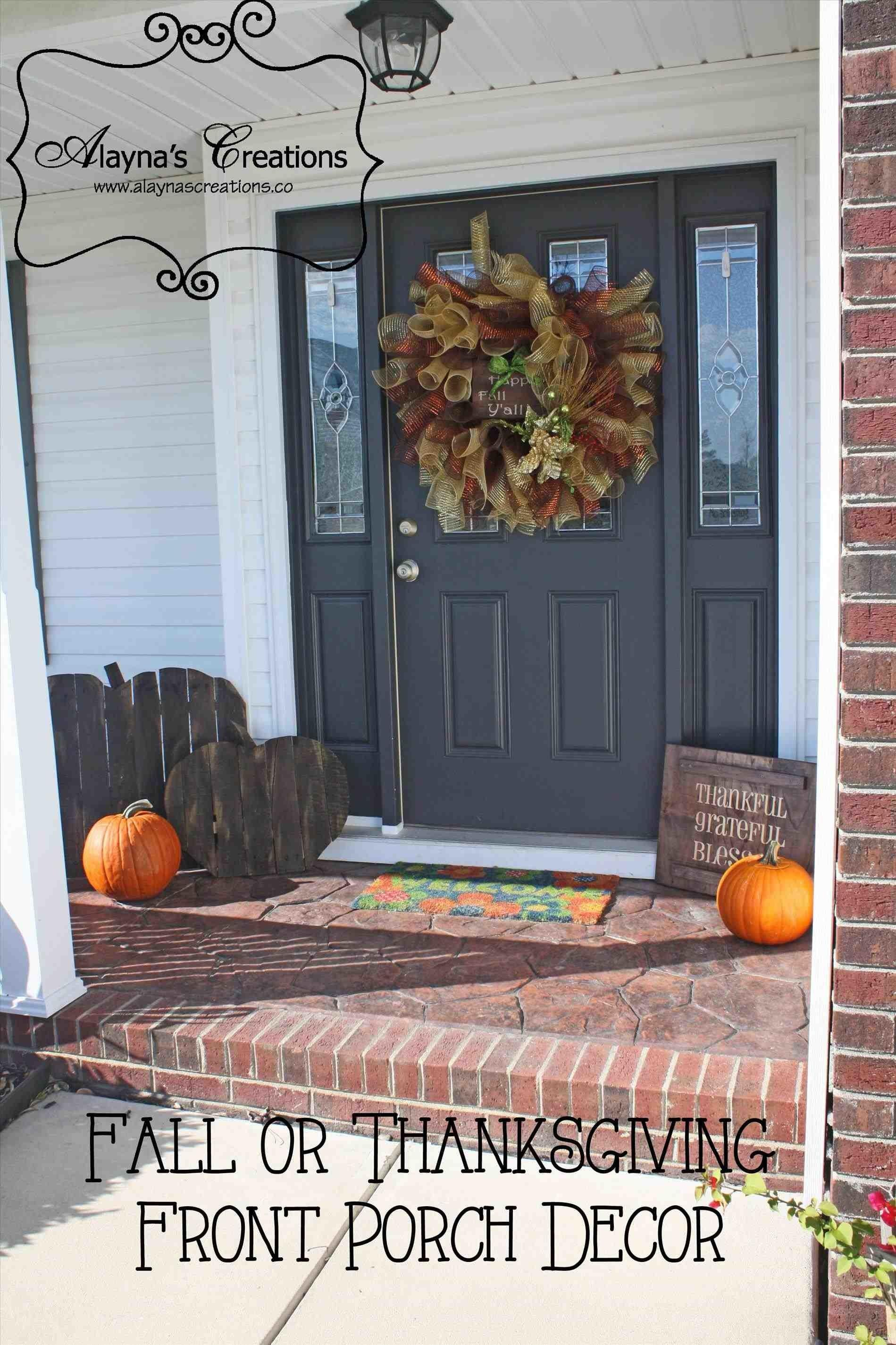 Fall Decor Front Porch Decorating Ideas