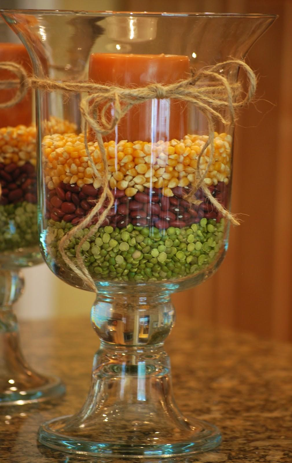 Fall Decorating Hurricane Vases Amanda Jane Brown