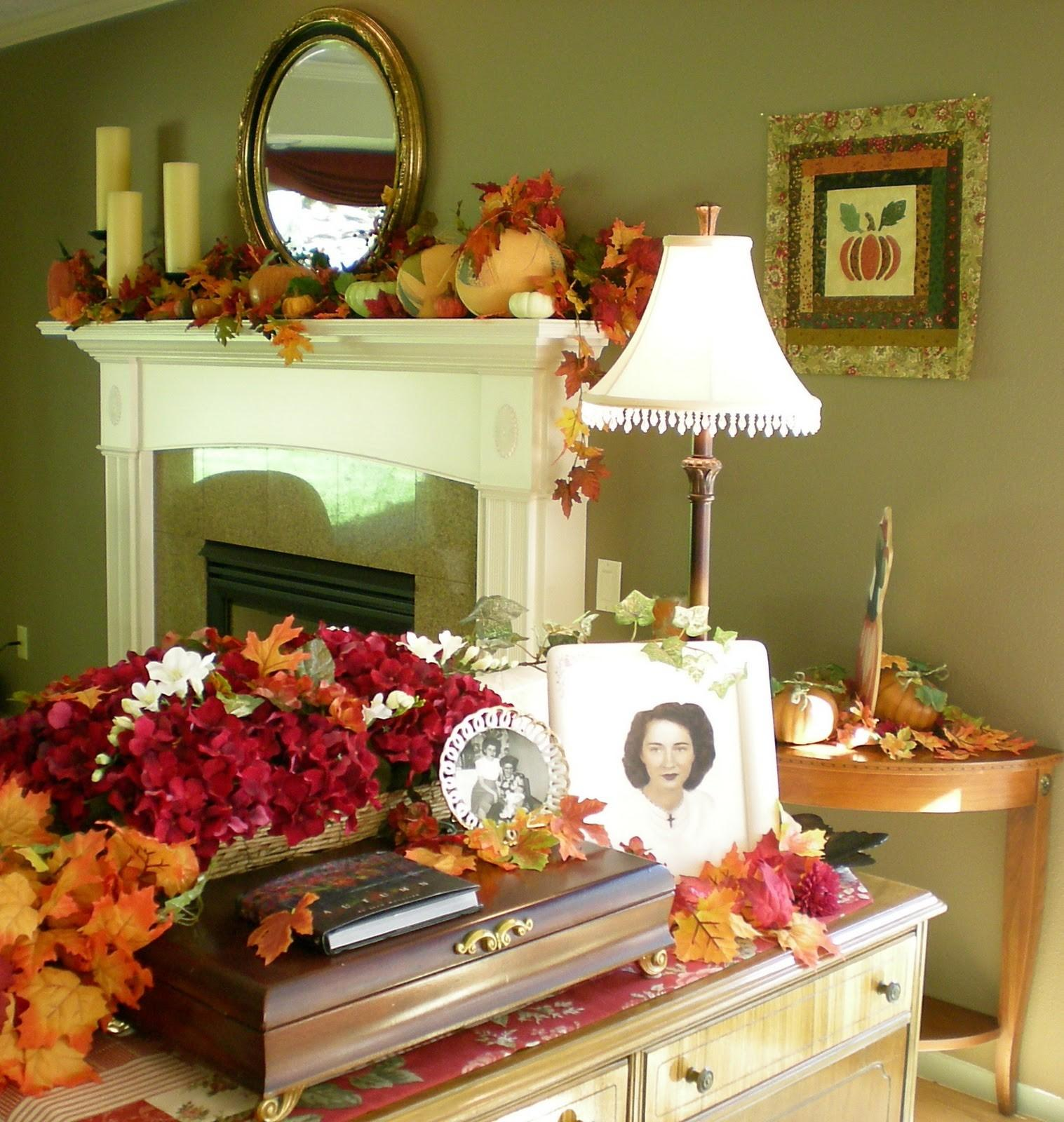 Fall Decorating Ideas Photos