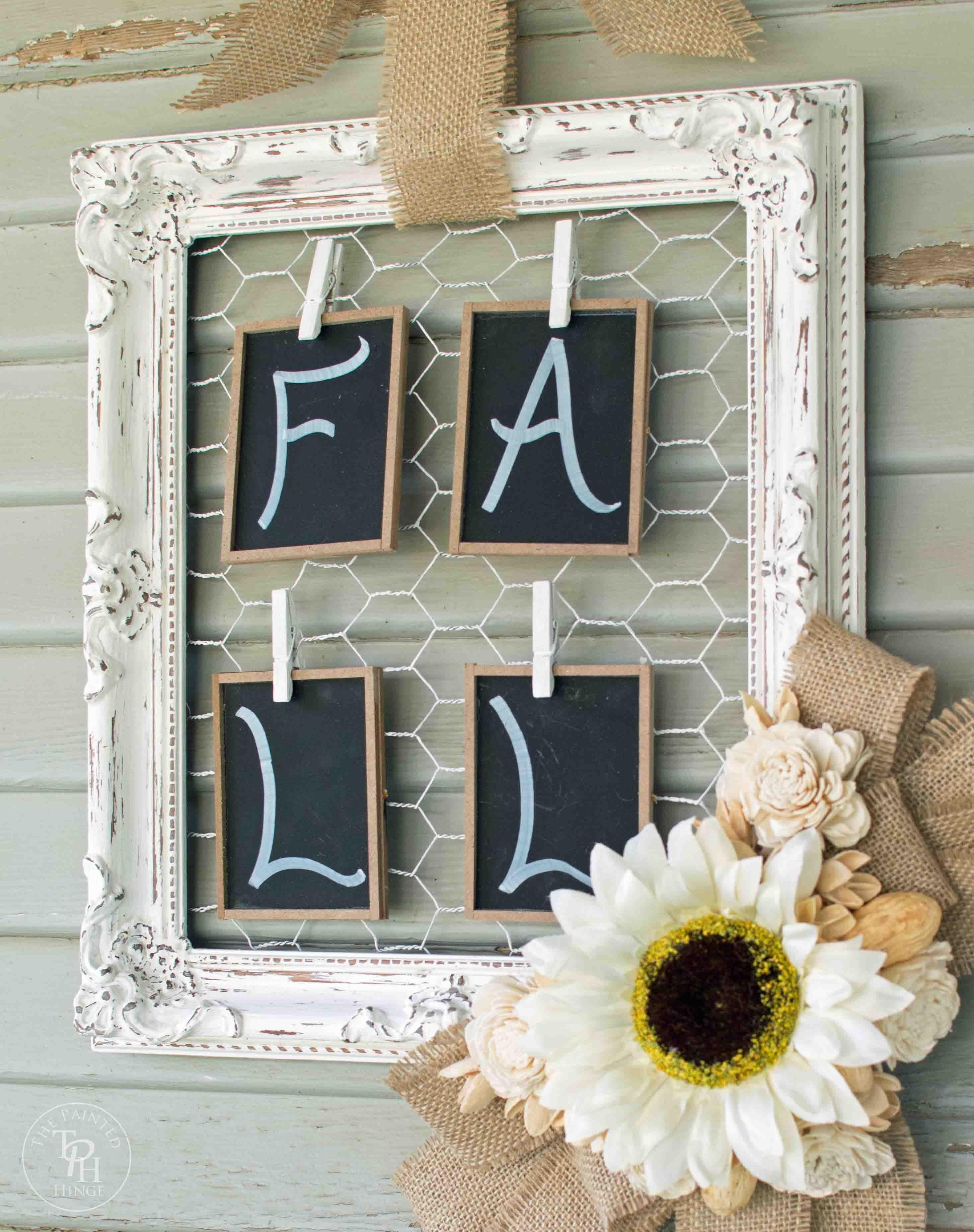 Fall Decorating Ideas Projects