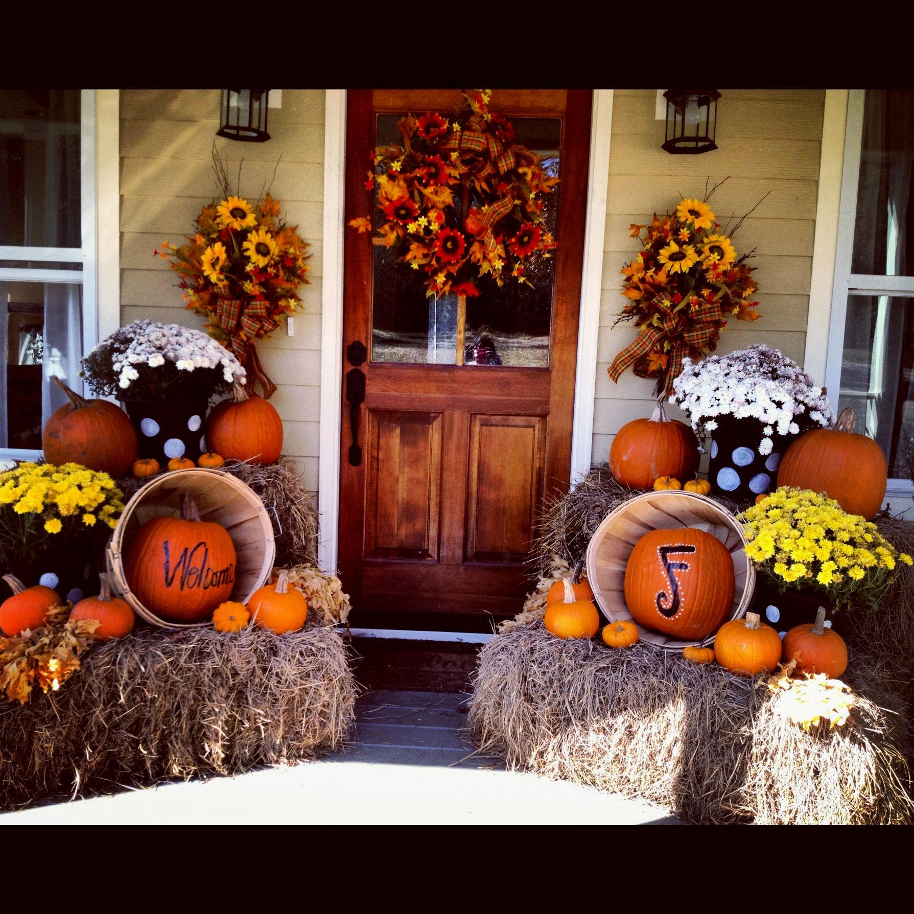 Fall Decorations Outside Idea Home