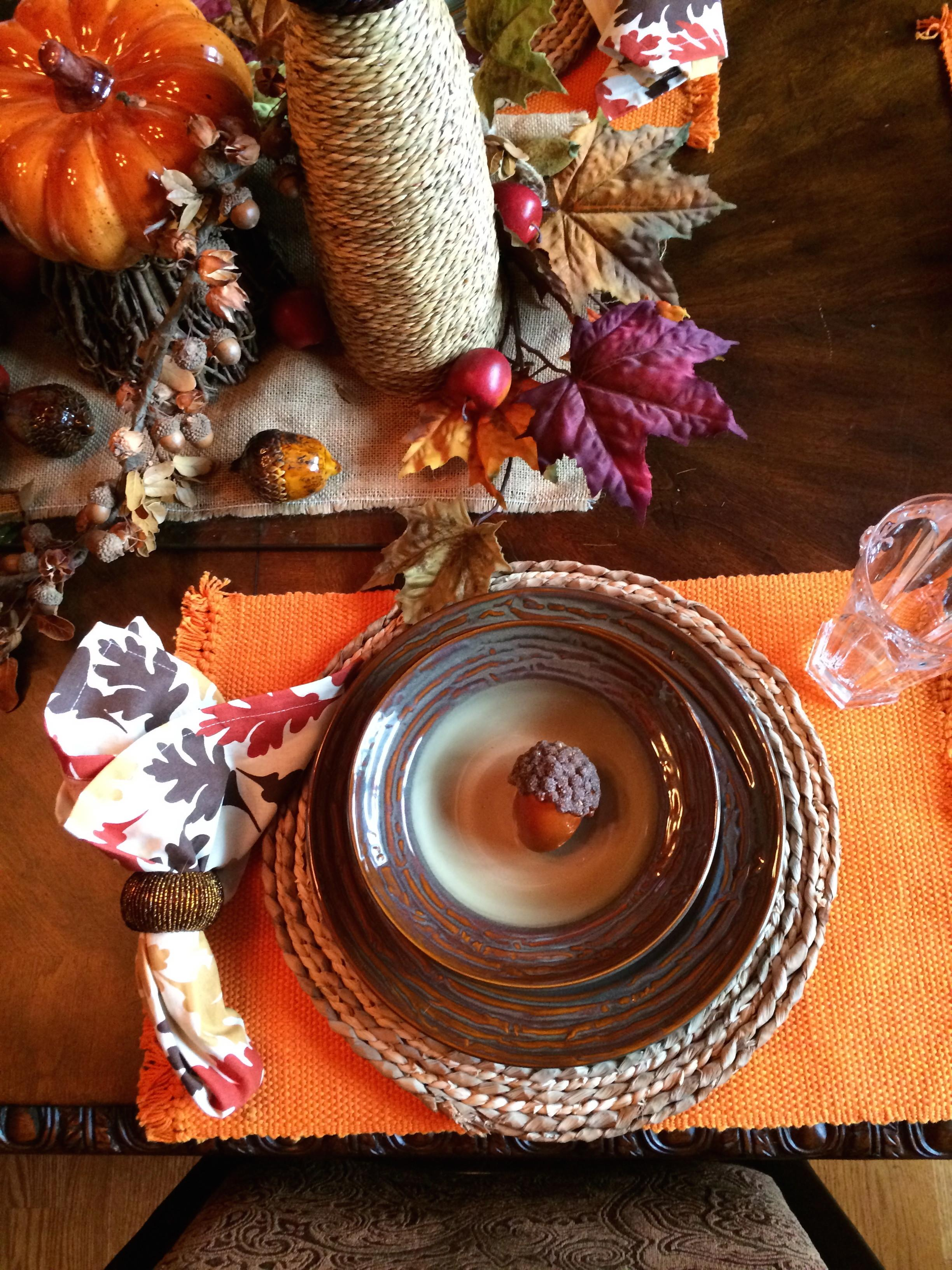 Fall Dining Room Table Ideas Mommy Blogs Decorate Home