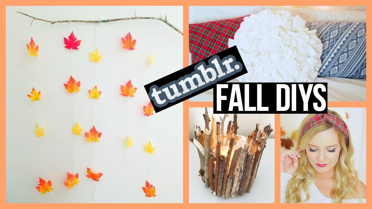 Fall Diy Projects 2015 Tumblr Inspired