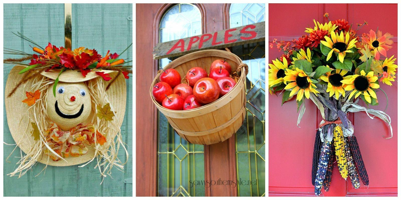 Fall Door Decorations Ideas Decorating Your Front