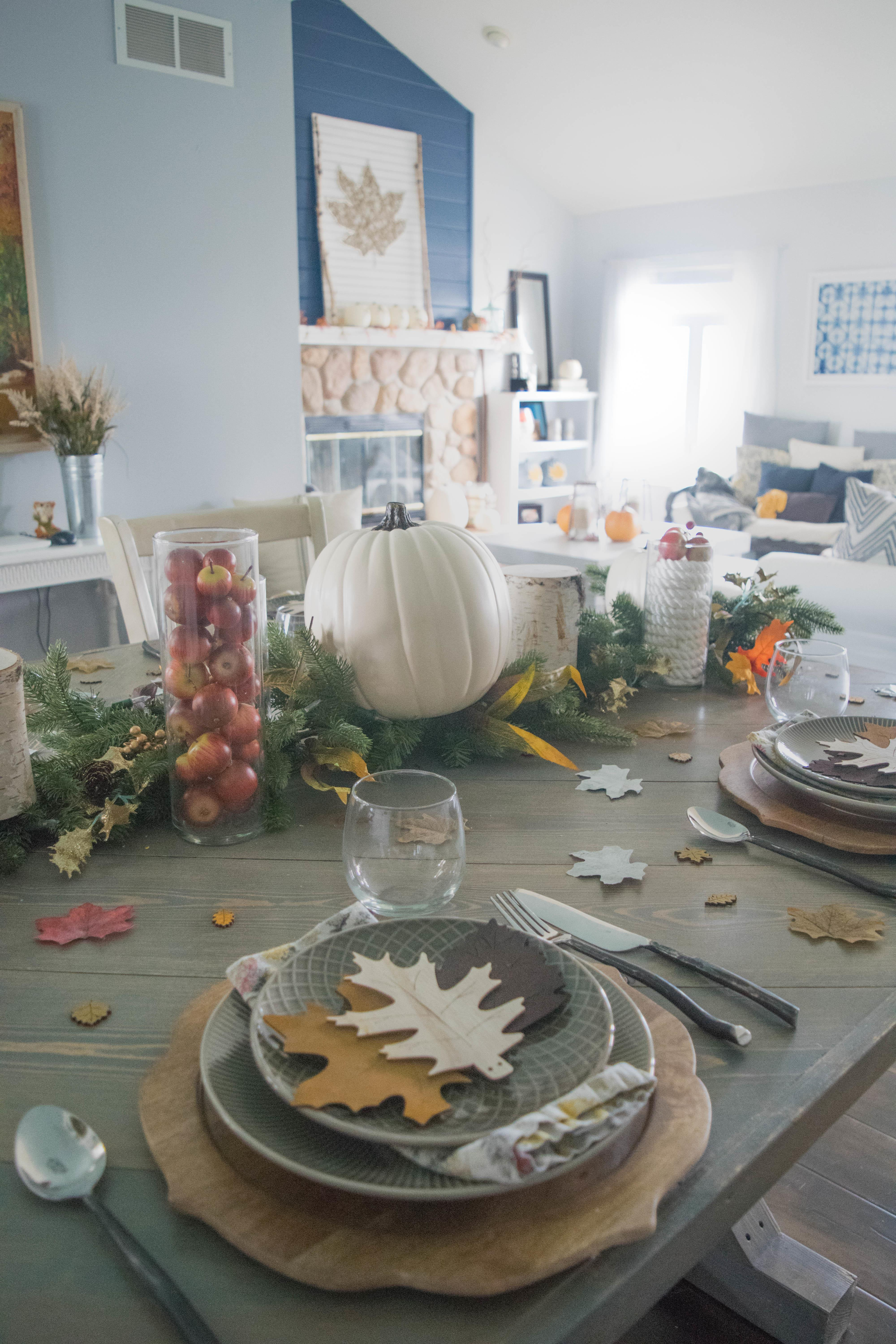 Fall Entertaining Table Setting Ideas Our House
