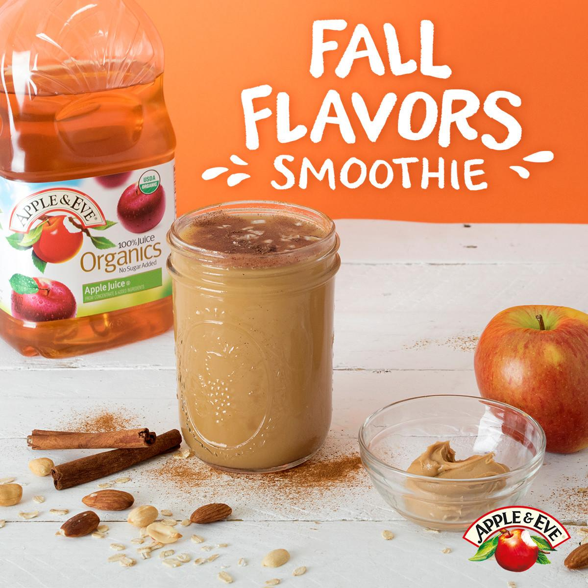Fall Flavors Smoothie Apple Eve