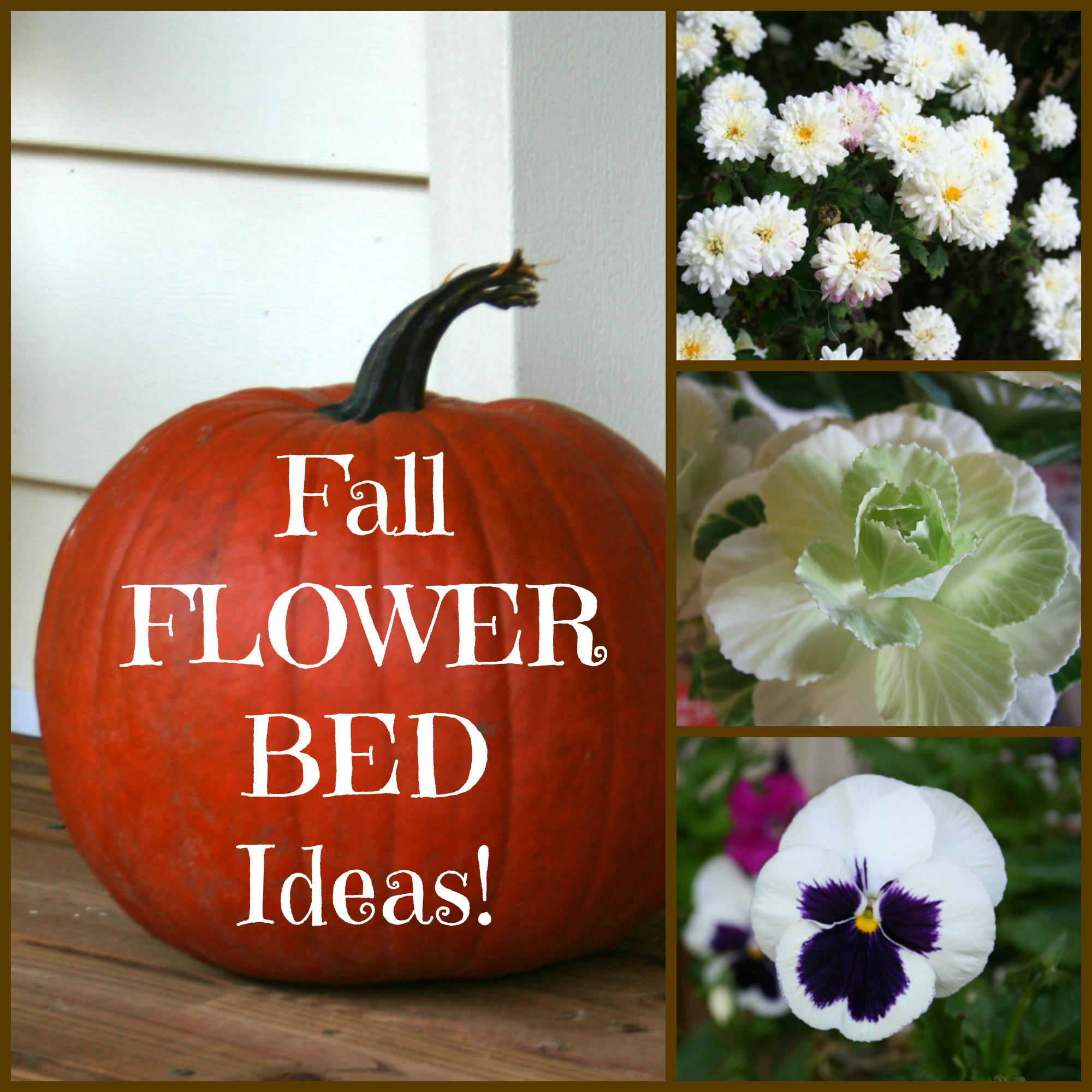 Fall Flower Bed Ideas Home Garden Joy