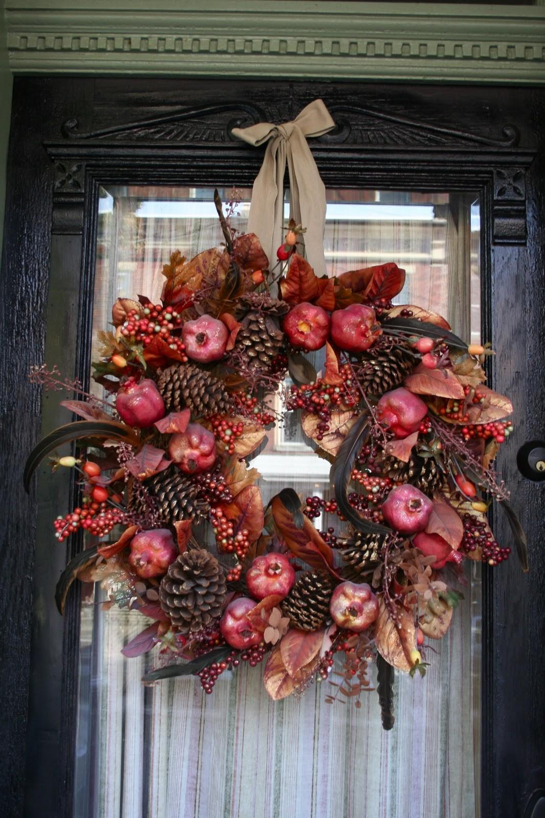 Fall Front Porch Home Stories