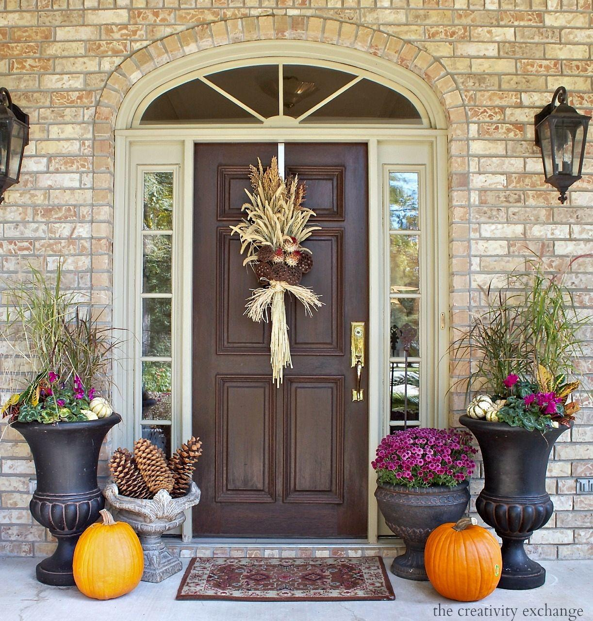 Fall Front Porch Ideas Mac Would Love