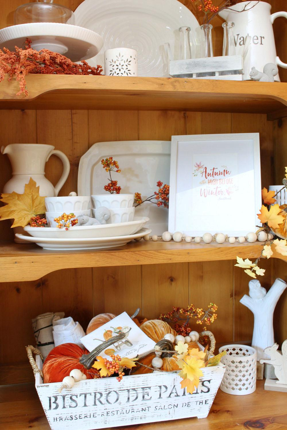 Fall Home Decor Ideas Tours Clean Scentsible