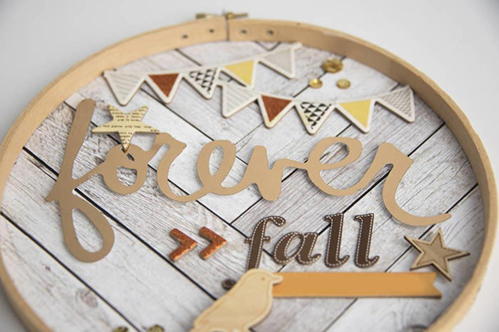 Fall Inspired Embroidery Hoop Decor Blitsy