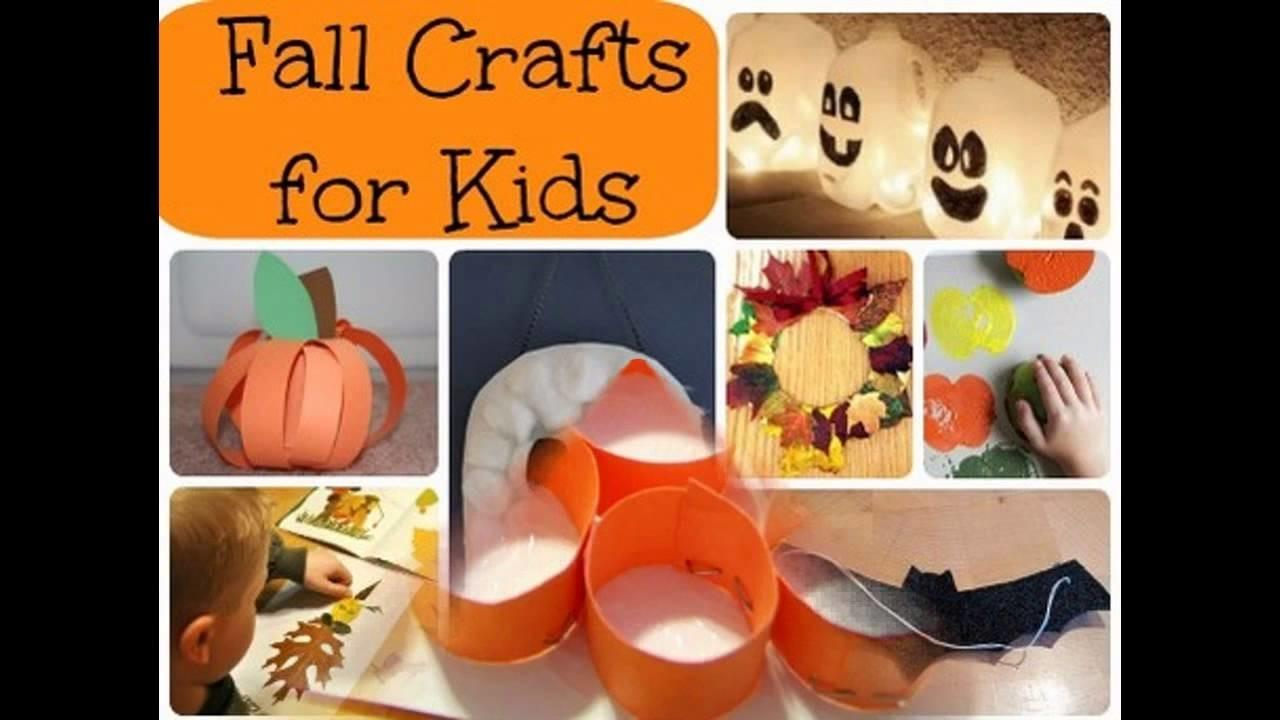 Fall Kid Craft Projects
