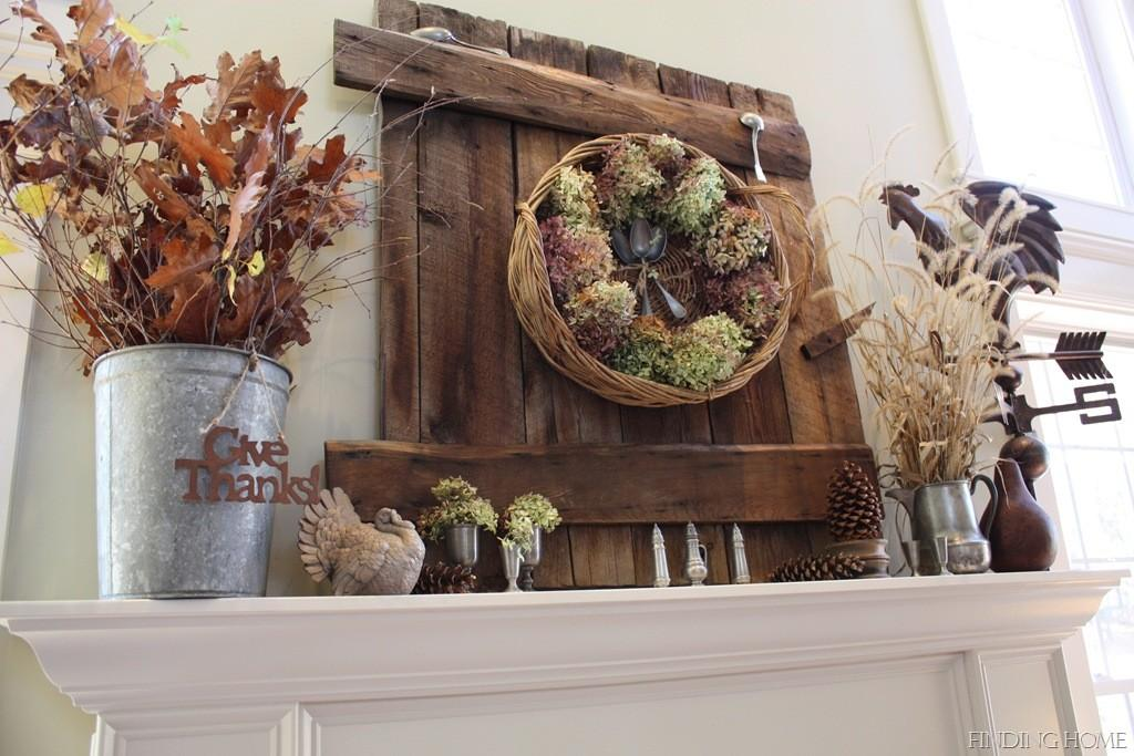 Fall Mantel Ideas Autumn Mantle Home Stories