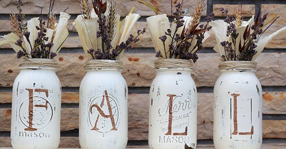 Fall Mason Jars Idea Box Tara Anything Everything