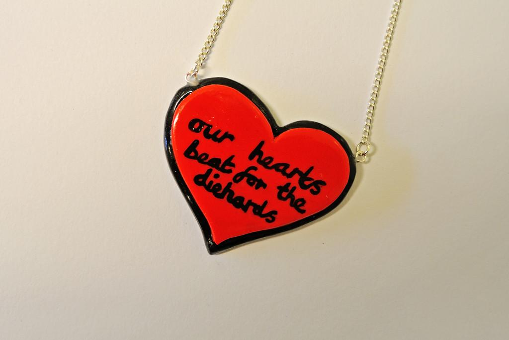 Fall Out Boy Inspired Necklace Our Hearts Beat