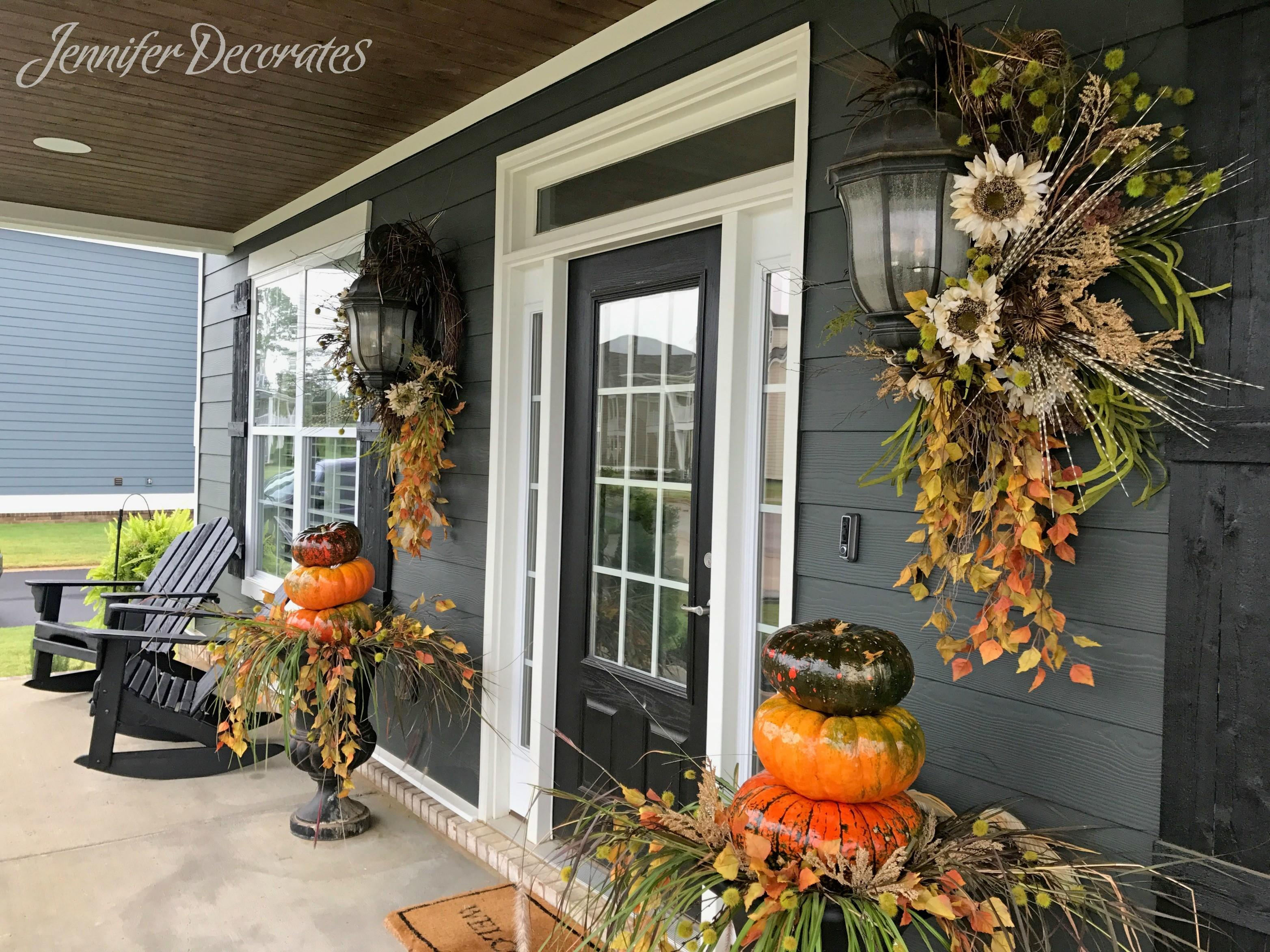Fall Porch Decorating Ideas Have See Jennifer