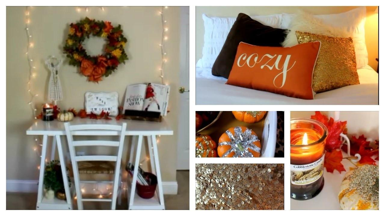 Fall Room Decor Ideas Inspiration