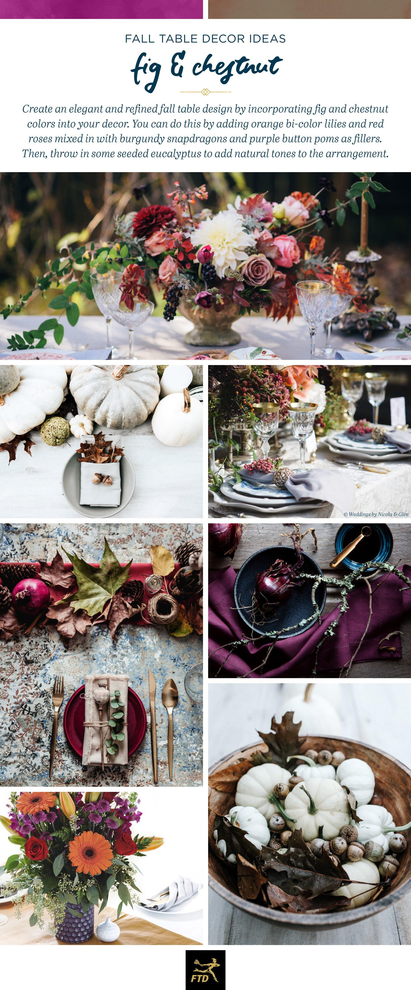 Fall Table Decor Ideas Inspired Our 2017 Color